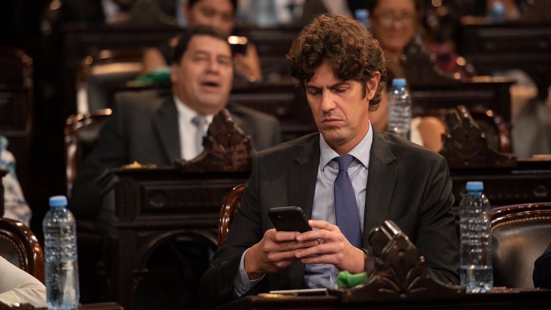 Martín Lousteau, ex ministro de Economía del gobierno kirchnerista y actual senador del bloque Juntos por el Cambio