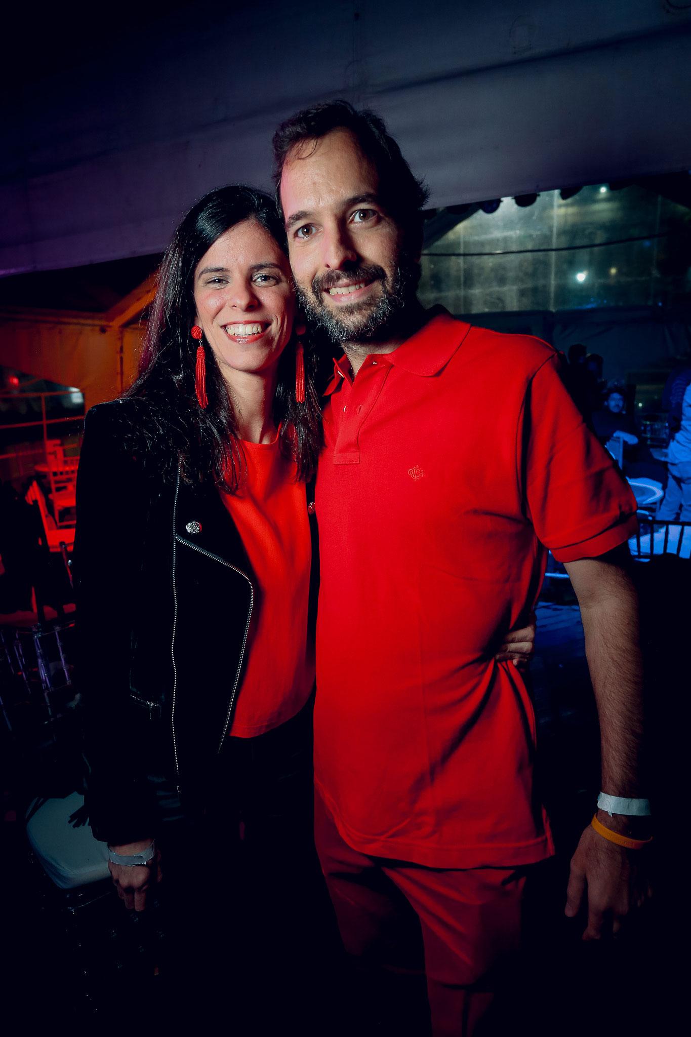 Sofía González Balcarce y Ricardo Grüneisen