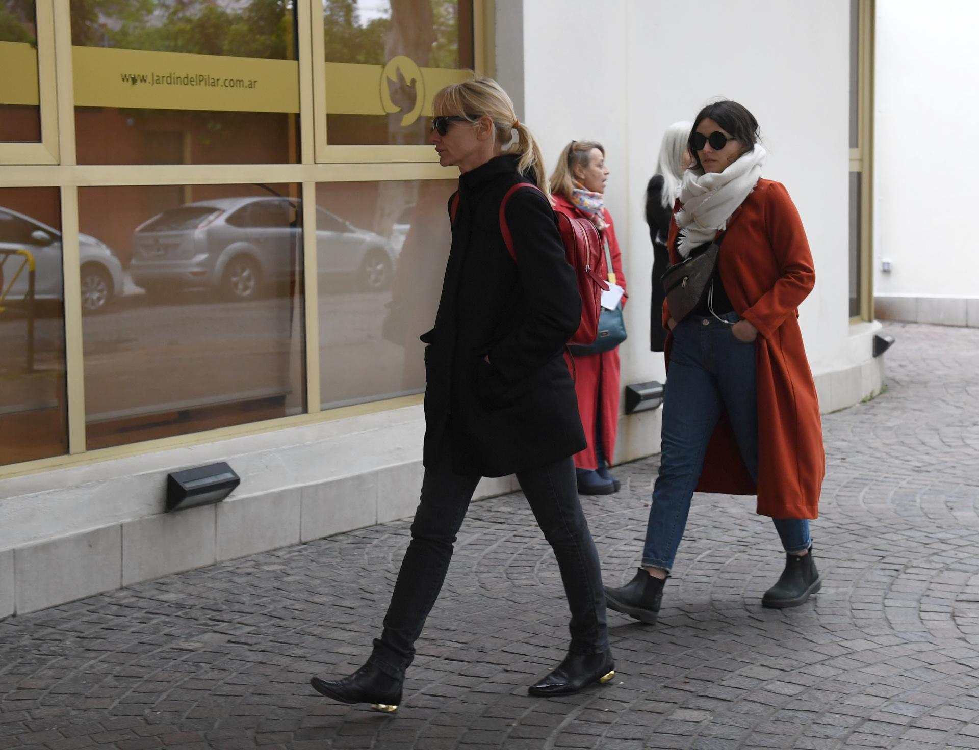 Carla Czudnowsky acompañaba al periodista en su programa