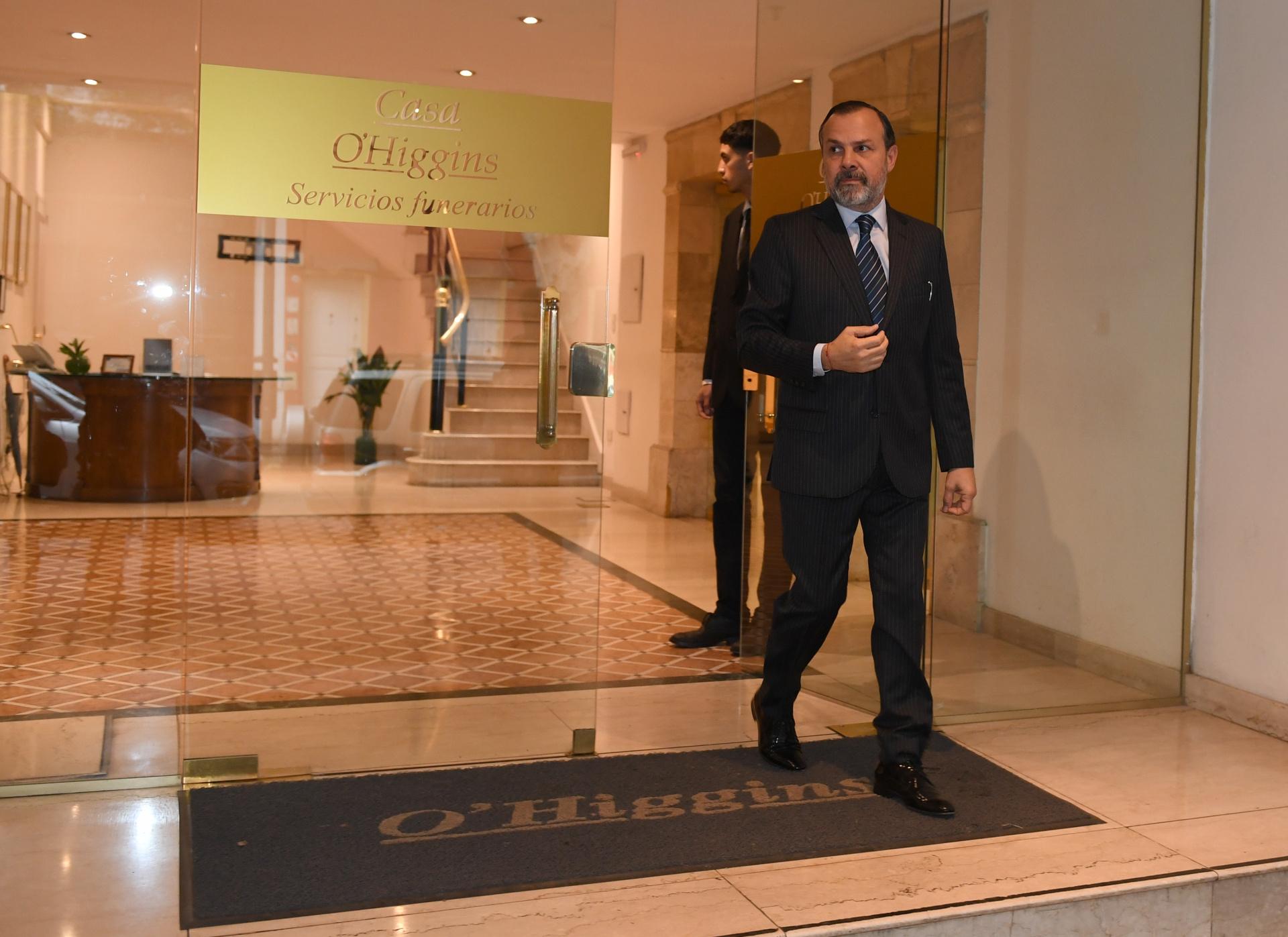 El periodista de C5N y Radio 10, Gustavo Sylvestre, al que le tocó dar al aire la noticia de la muerte de su colega en el canal de noticias