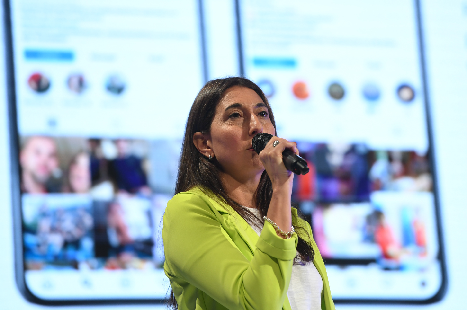 María Valeria Oyuela, gerente de Publicidad Digital de Perfil