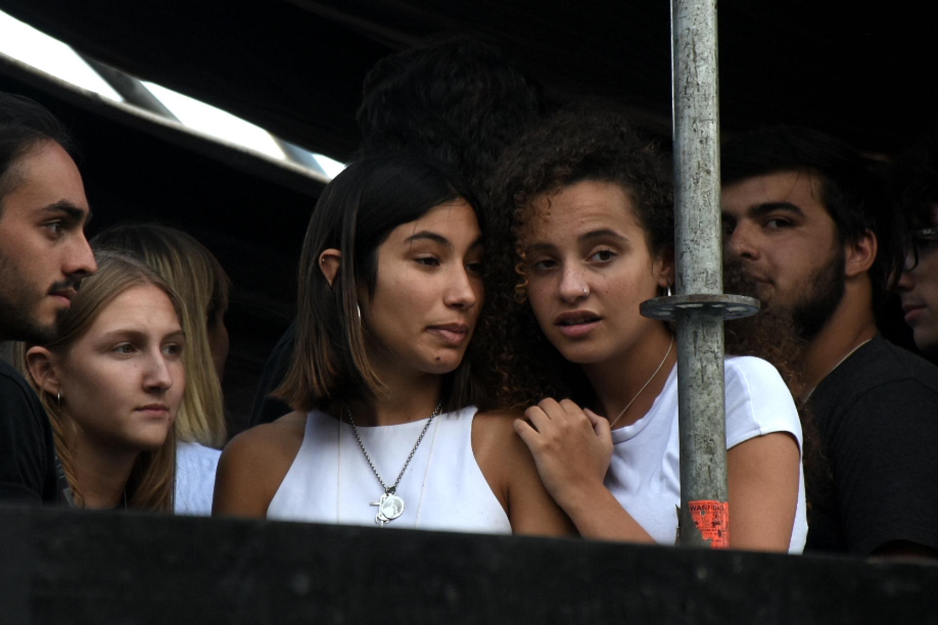 Julieta Rossi, quien era la novia de Fernando