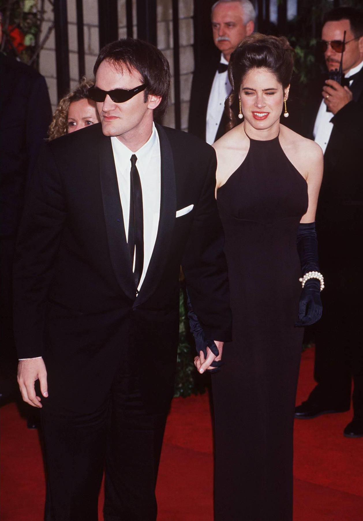 Quentin Tarantino en la edición 64ª de los premios de la Academia de Hollywood en 1994. Ya tiene dos Oscar en su casa, y este año compite en tres categorías: mejor guion, mejor película y mejor dirección