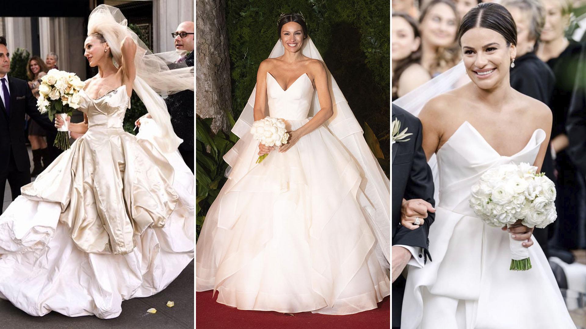 Las Coincidencias Del Vestido De Pampita Con Sarah Jessica