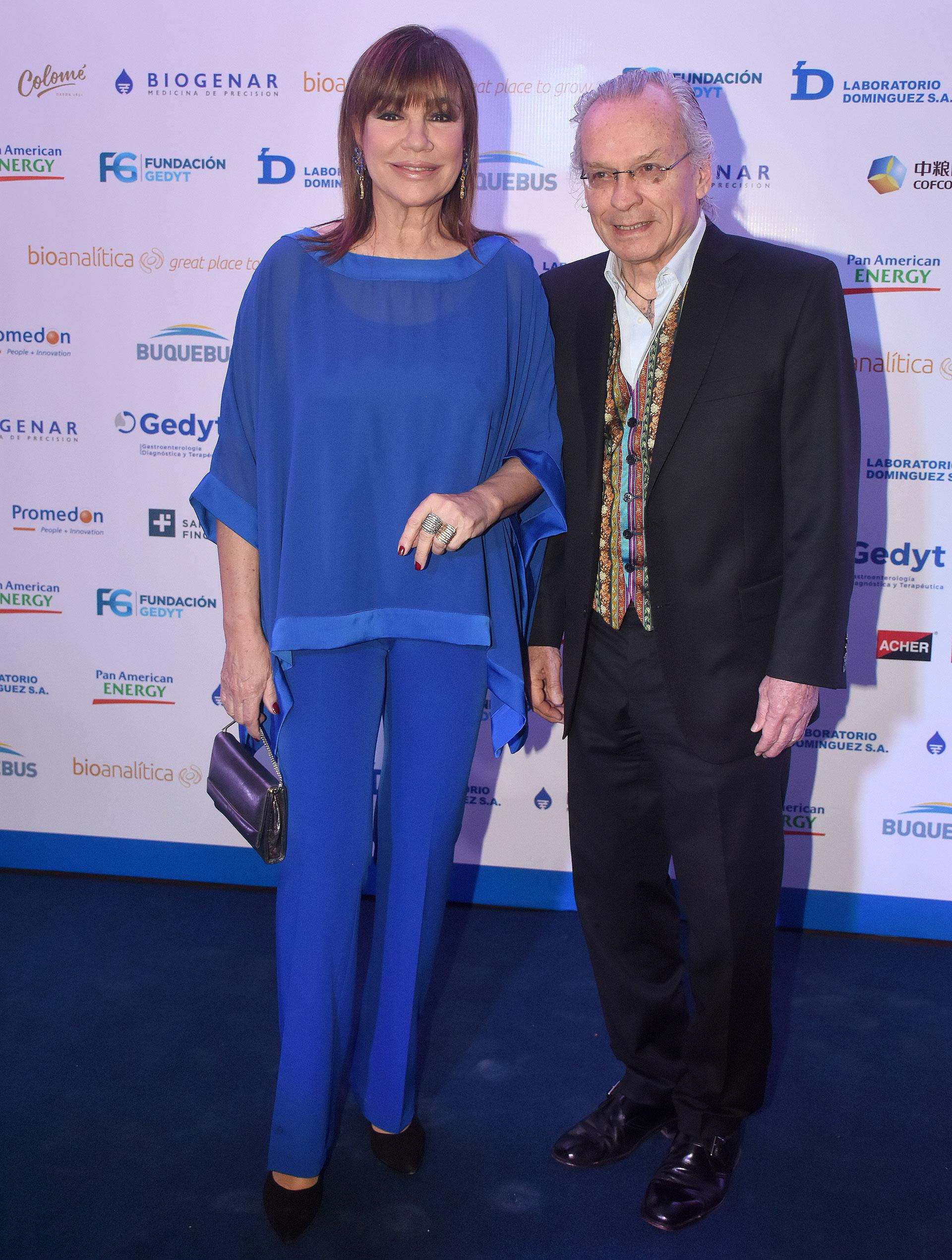 Mora Furtado y su pareja, Guillermo Nazabal