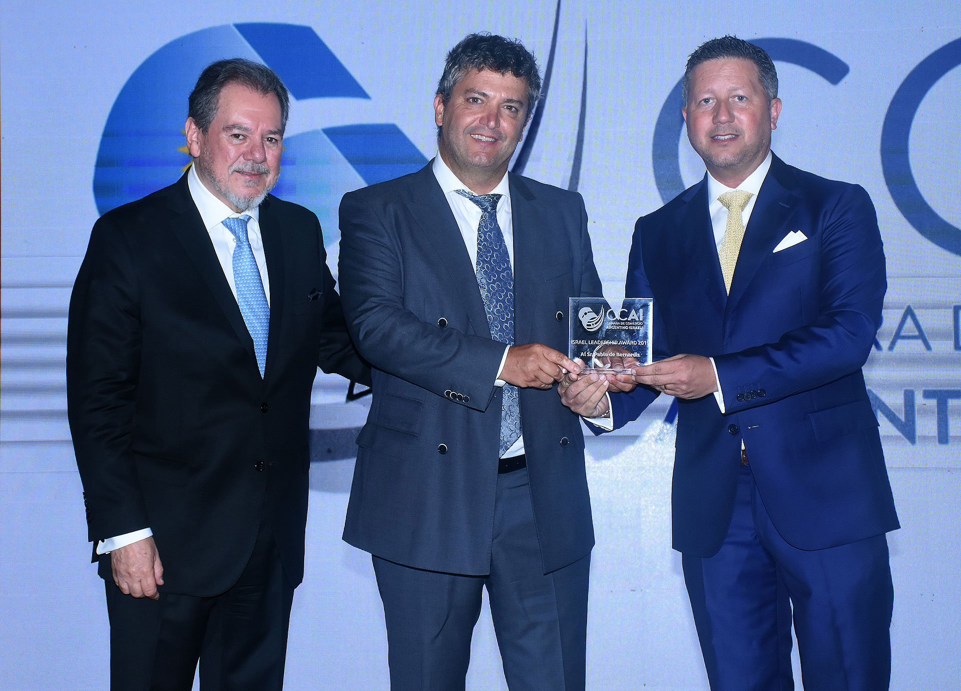 Pablo de Bernardis, presidente de Absolut Mobile y de Absolut Circular Economy, ganador del Israel Leadership Awards 2019