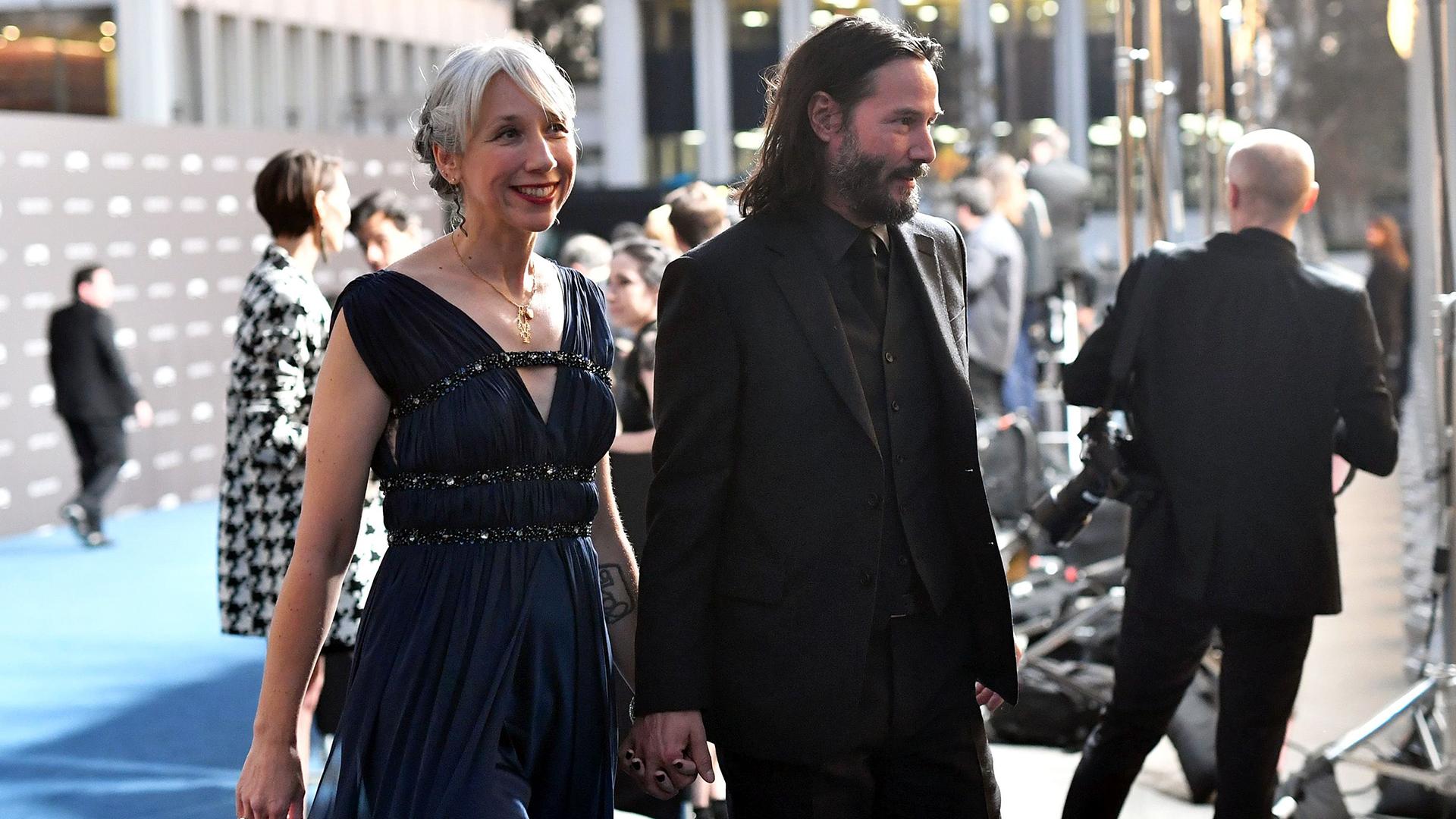 10 datos sobre Alexandra Grant, la nueva novia de Keanu Reeves - Infobae