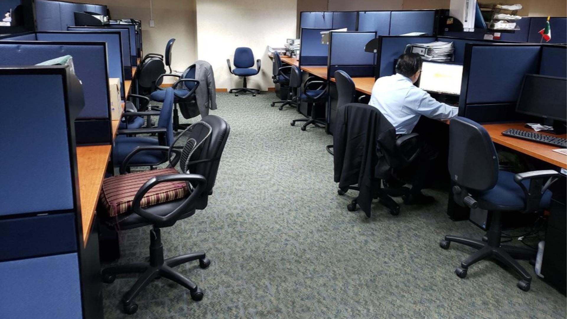 Muchos empleadores apoyaron a sus trabajadoras sin penalizar el que el día de hoy faltaran (Foto: Twitter@Oscar_Ricram)