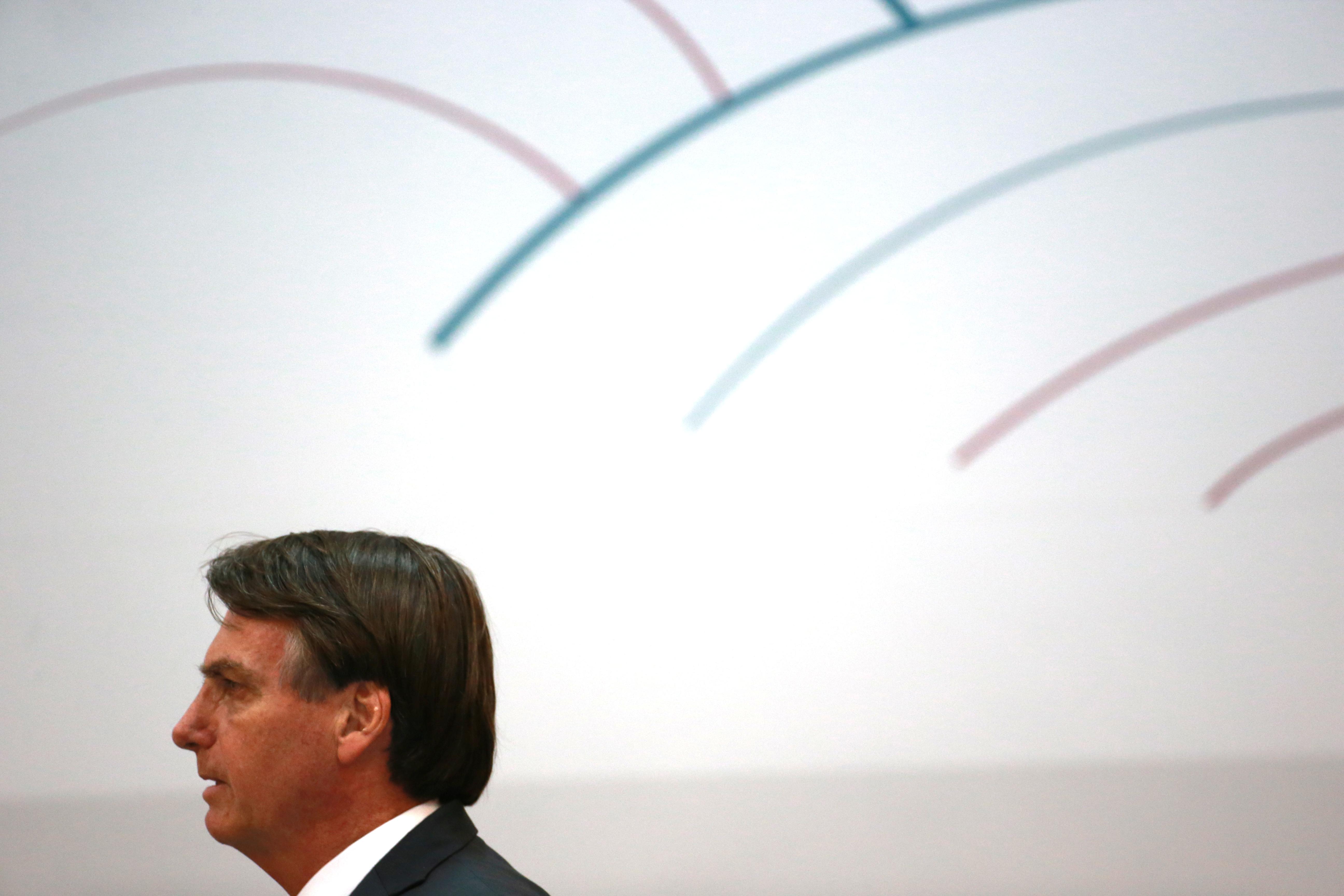 Jair Bolsonaro en la cumbre del Mercosur (Fotos: Reuters)
