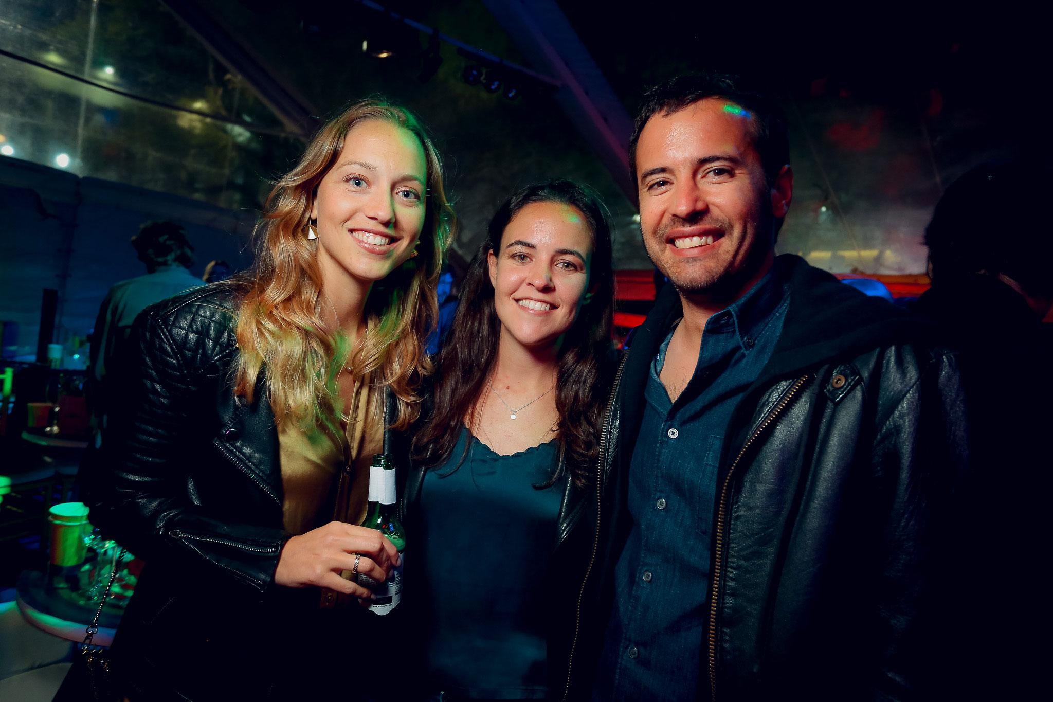 Carolina De Ganay, Sofía Bunge e Ignacio Ortíz