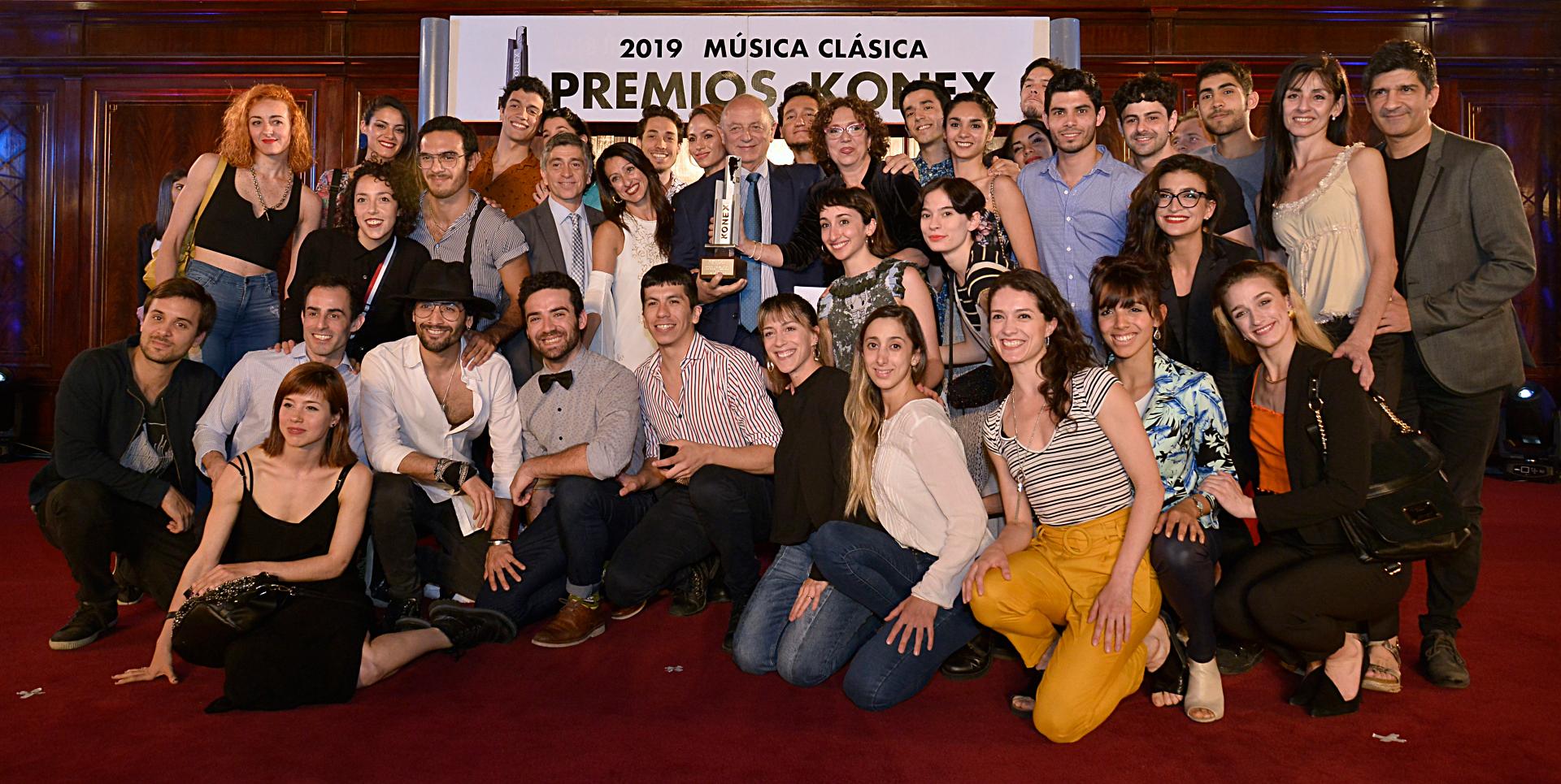 Ballet Contemporáneo del Teatro San Martín obtuvo su galardón de parte de la Fundación Konex