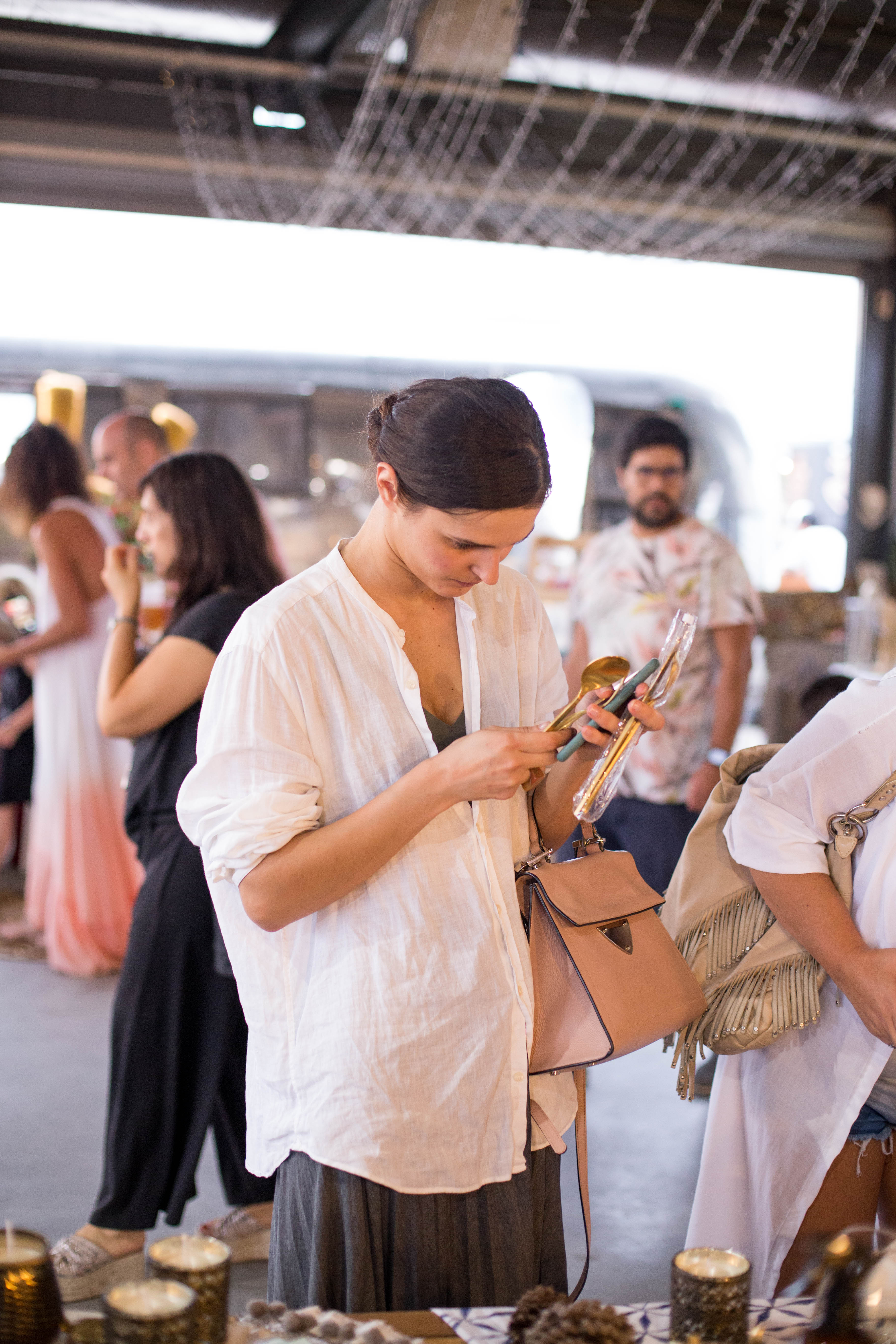 En este festival se pudo visitar un área destinada a la espiritualidad y a la limpieza energética con emprendedores que ayudan a las personas a reconectarse
