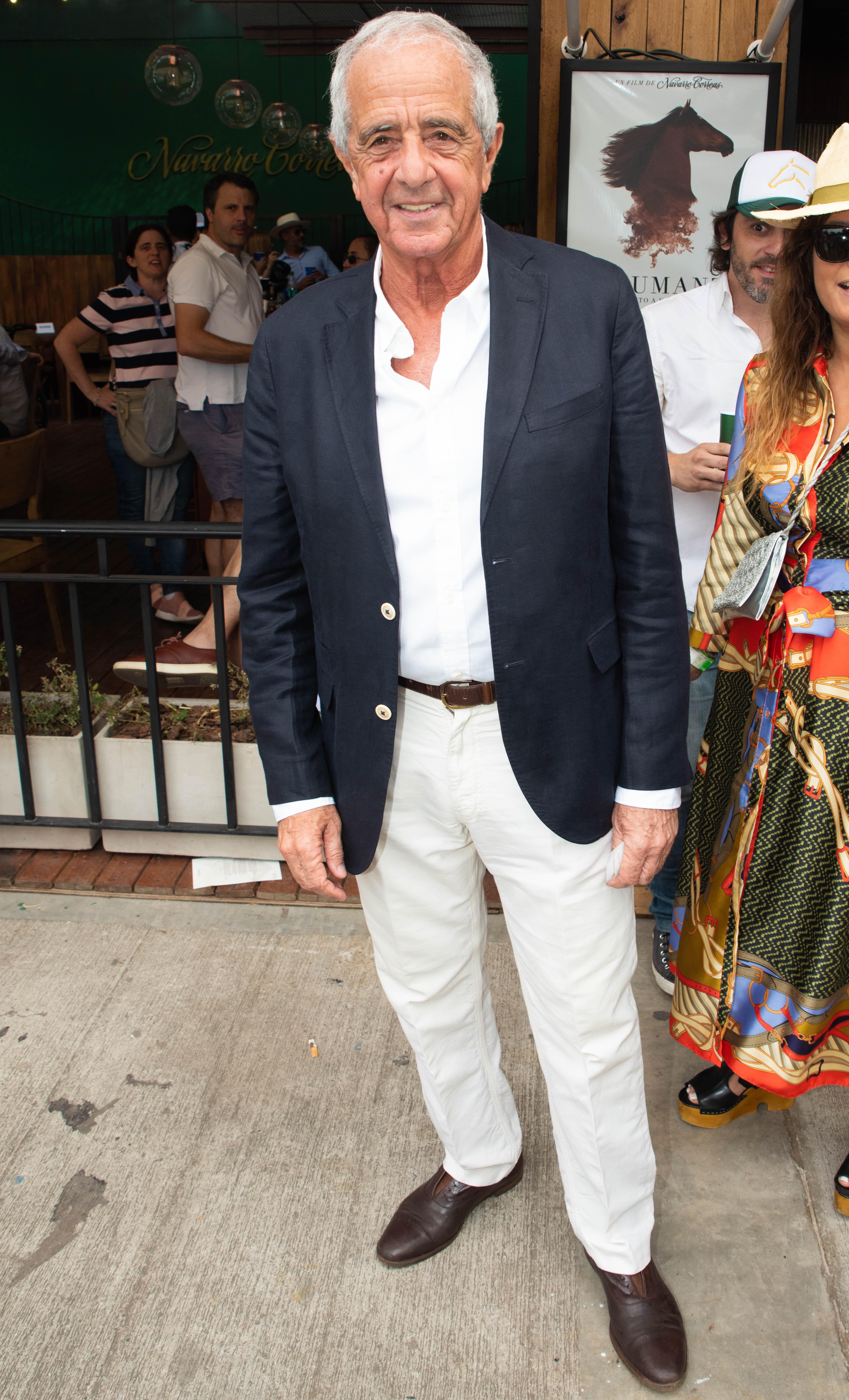 El presidente de River, Rodolfo D'Onofrio