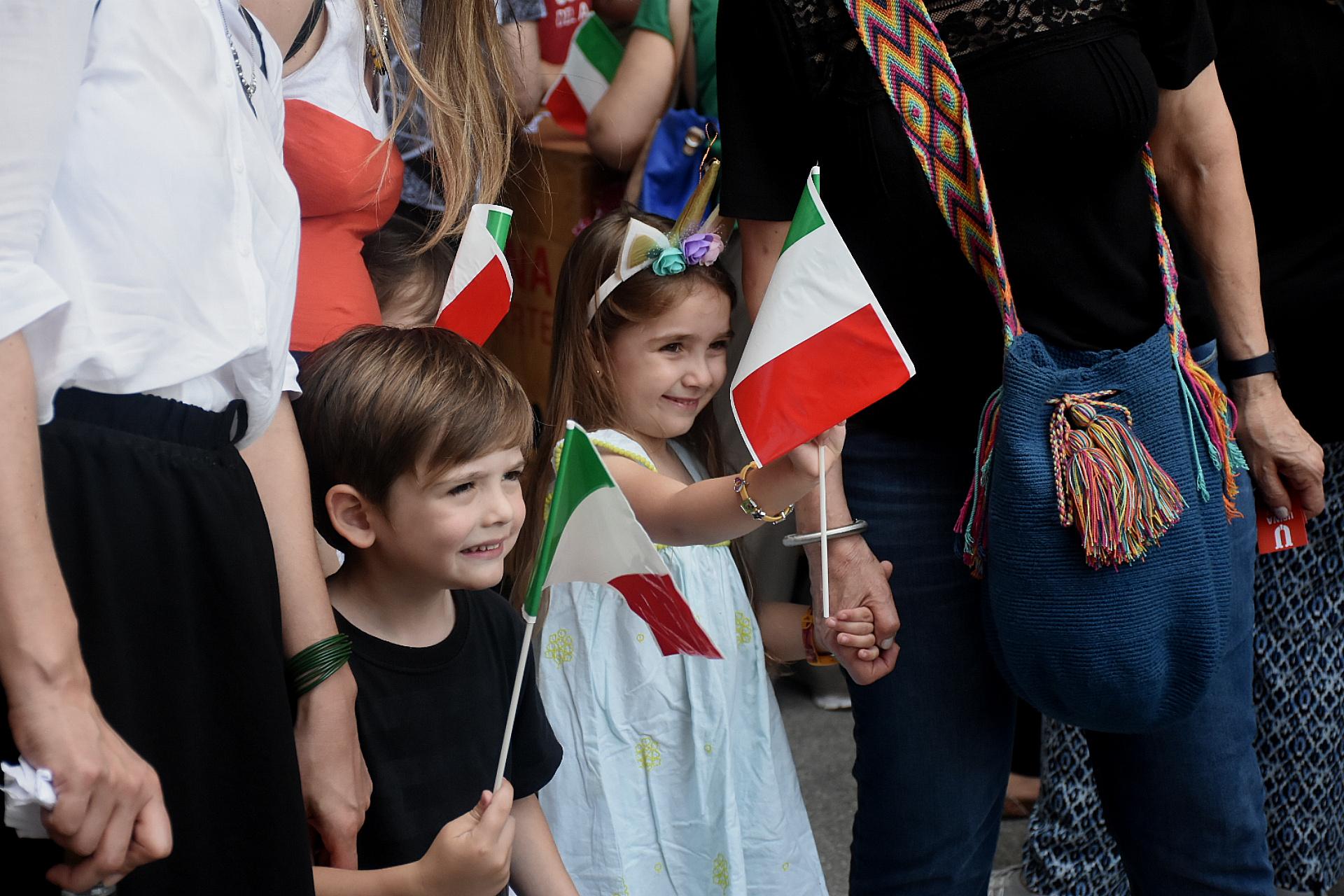 Familias, grandes y chicos participaron del Día de la Cocina Italiana en Buenos Aires en la Usina del Arte de la Boca