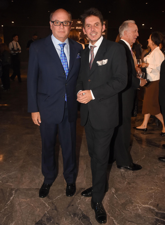 Martín Cabrales y Gerard Confalonieri