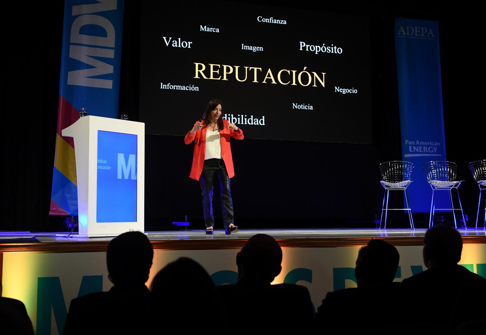 Silvina Seiguer, presidenta de la Asociación Dircom