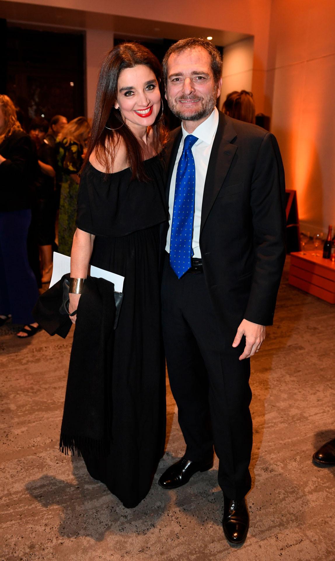 Verónica Varano y Riccardo Smimmo