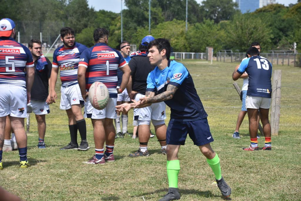 Estos partidos de rugby congregaron a equipos LGBTIQ+, de mujeres, varones heterosexuales y mixtos en una jornada a cielo abierto y pura adrenalina