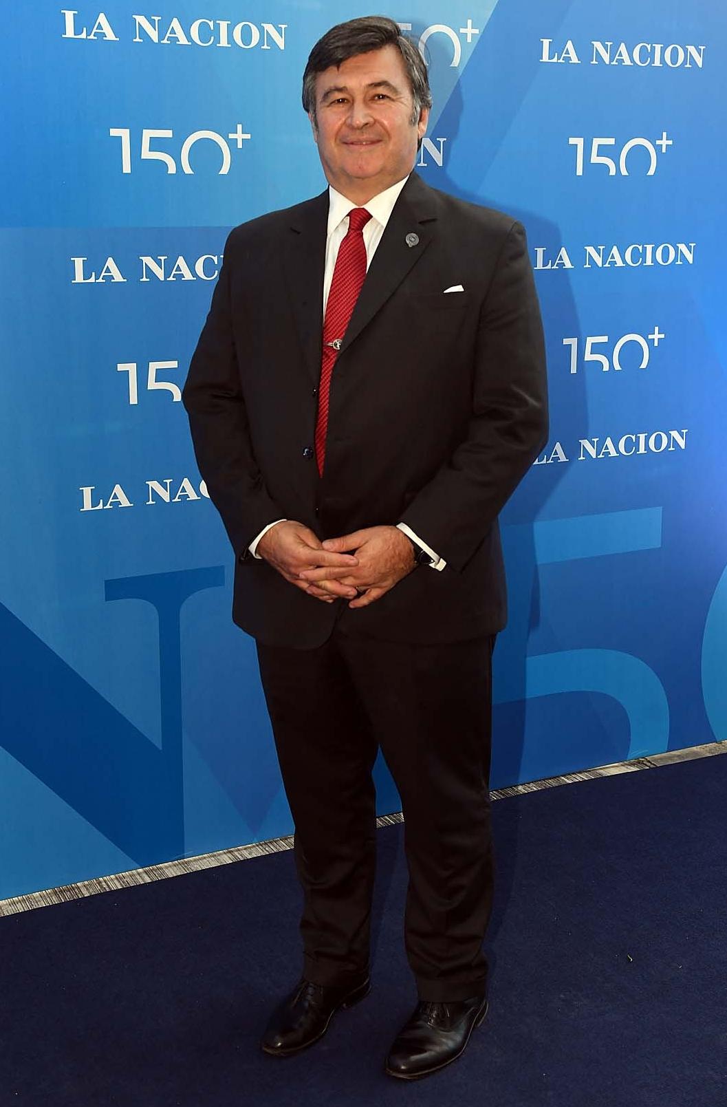 El presidente de la Sociedad Rural Argentina (SRA), Daniel Pelegrina
