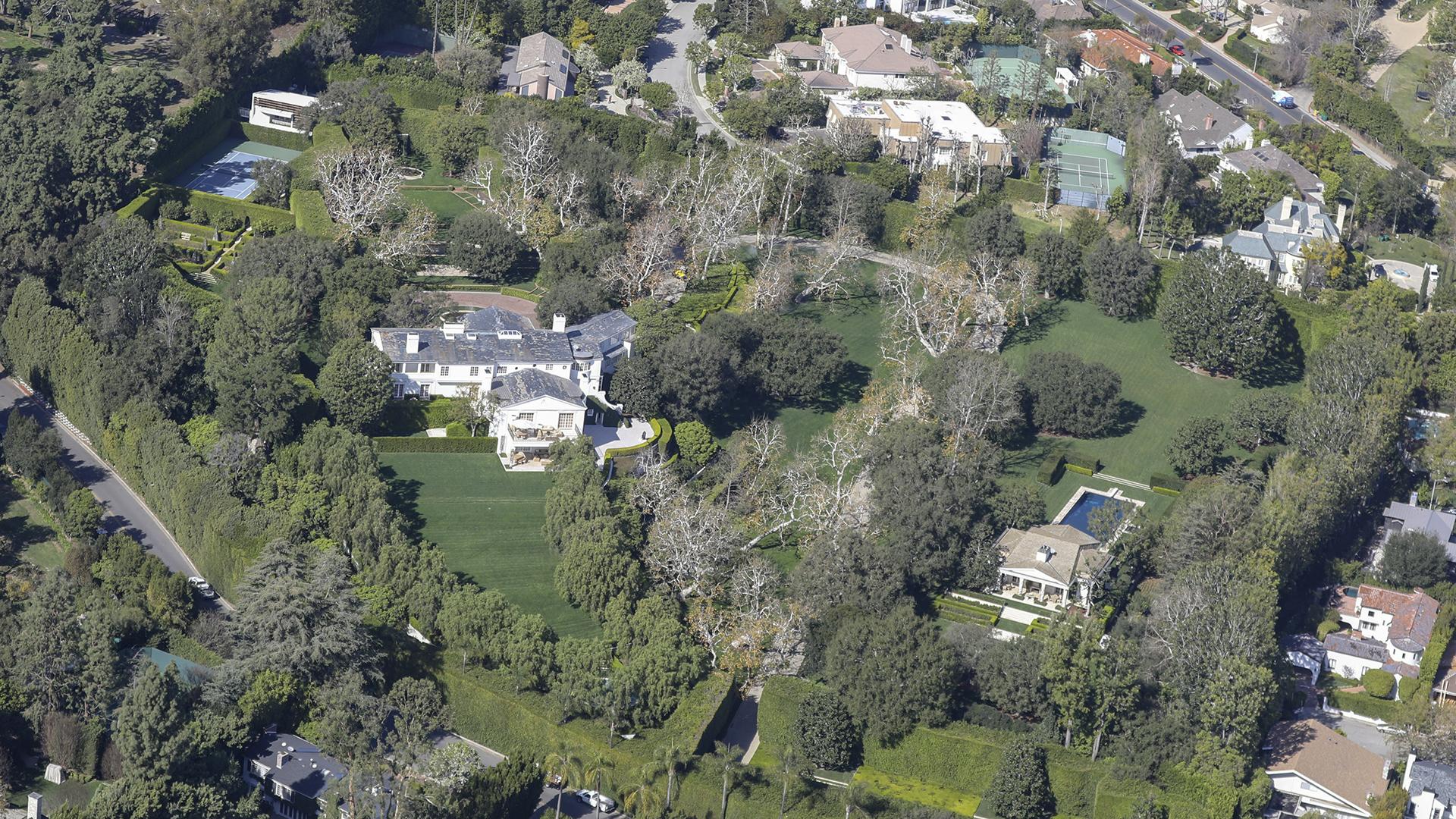 Cuando Geffen compró la propiedad, en 1990, el precio fue de 47,5 millones de dólares, y marcó récords en su momento