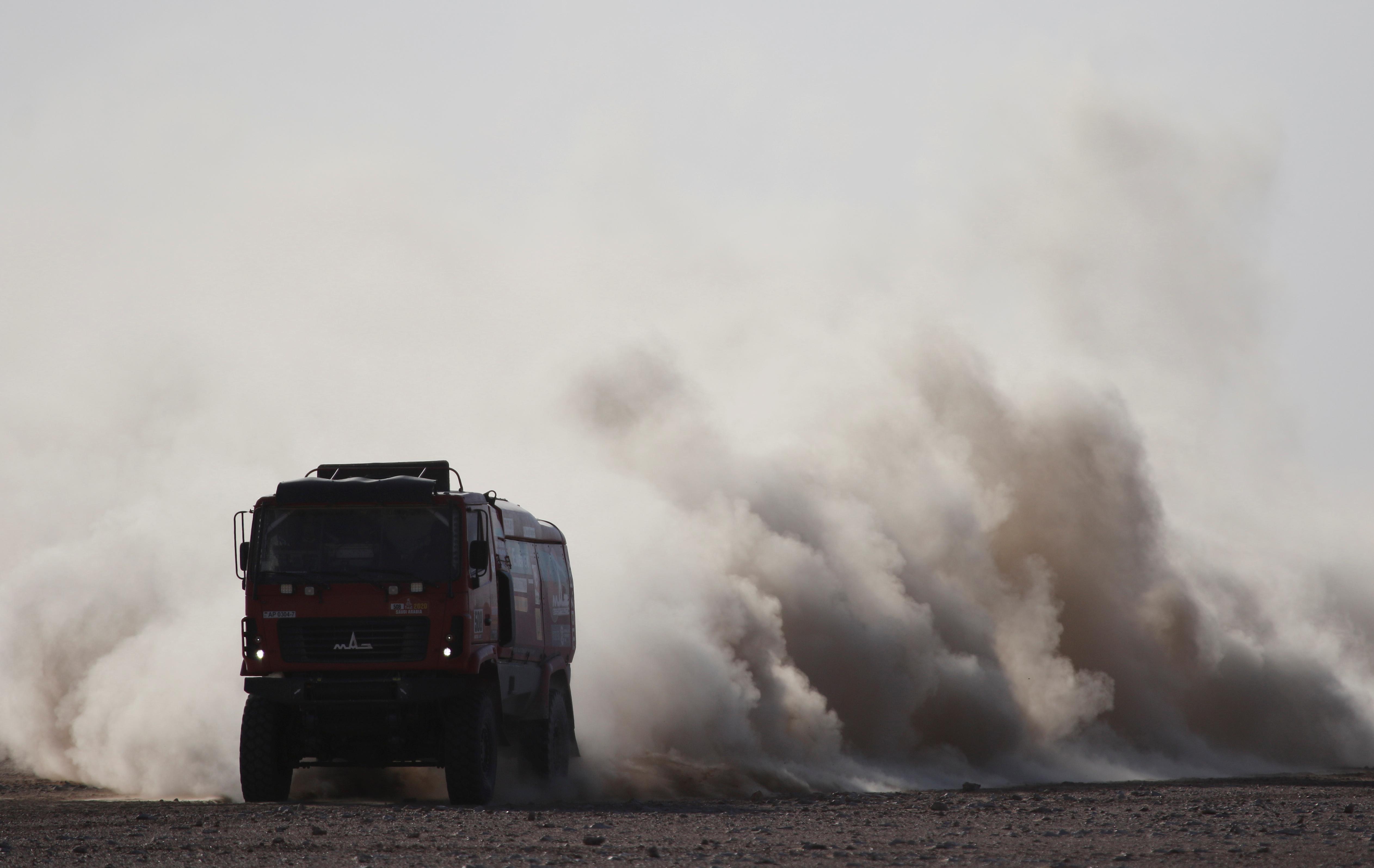 Este martes se corrió la etapa 9 del Rally Dakar 2020