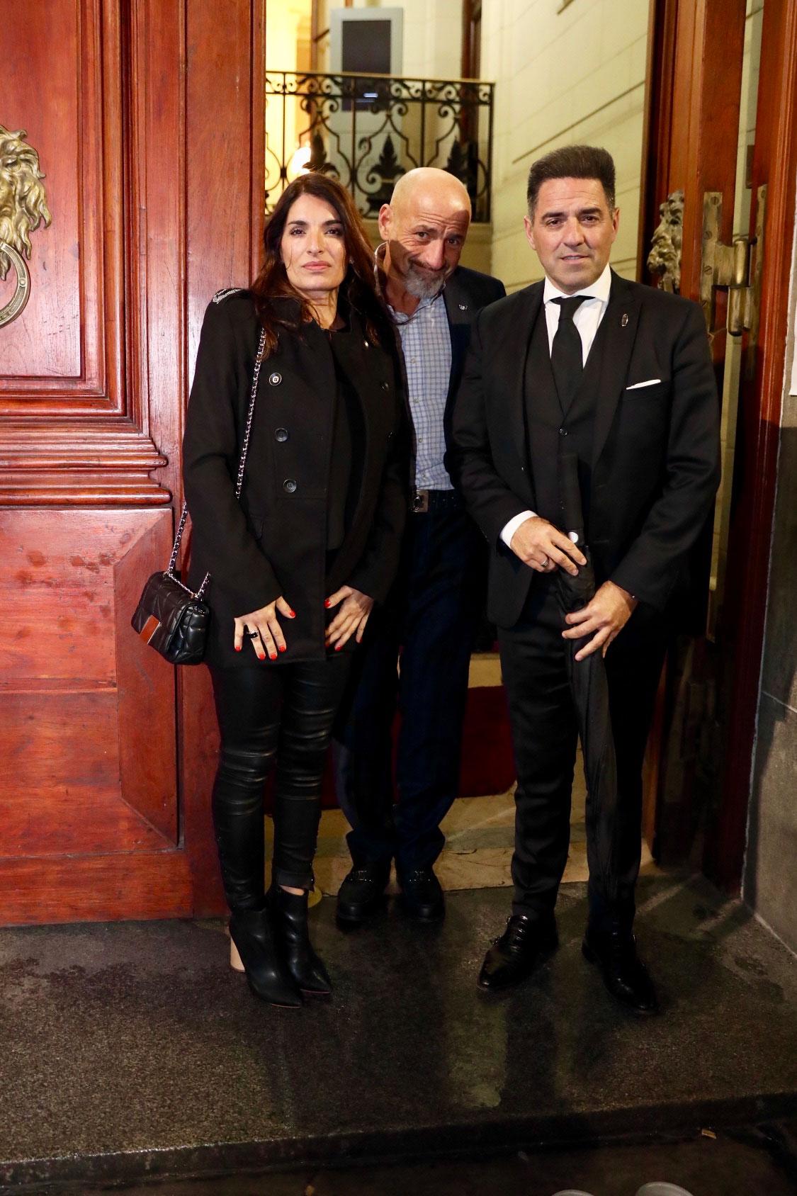 Romina Propato, Gustavo Sofovich y Mariano Iúdica (Foto: Teleshow/Chule Valerga)