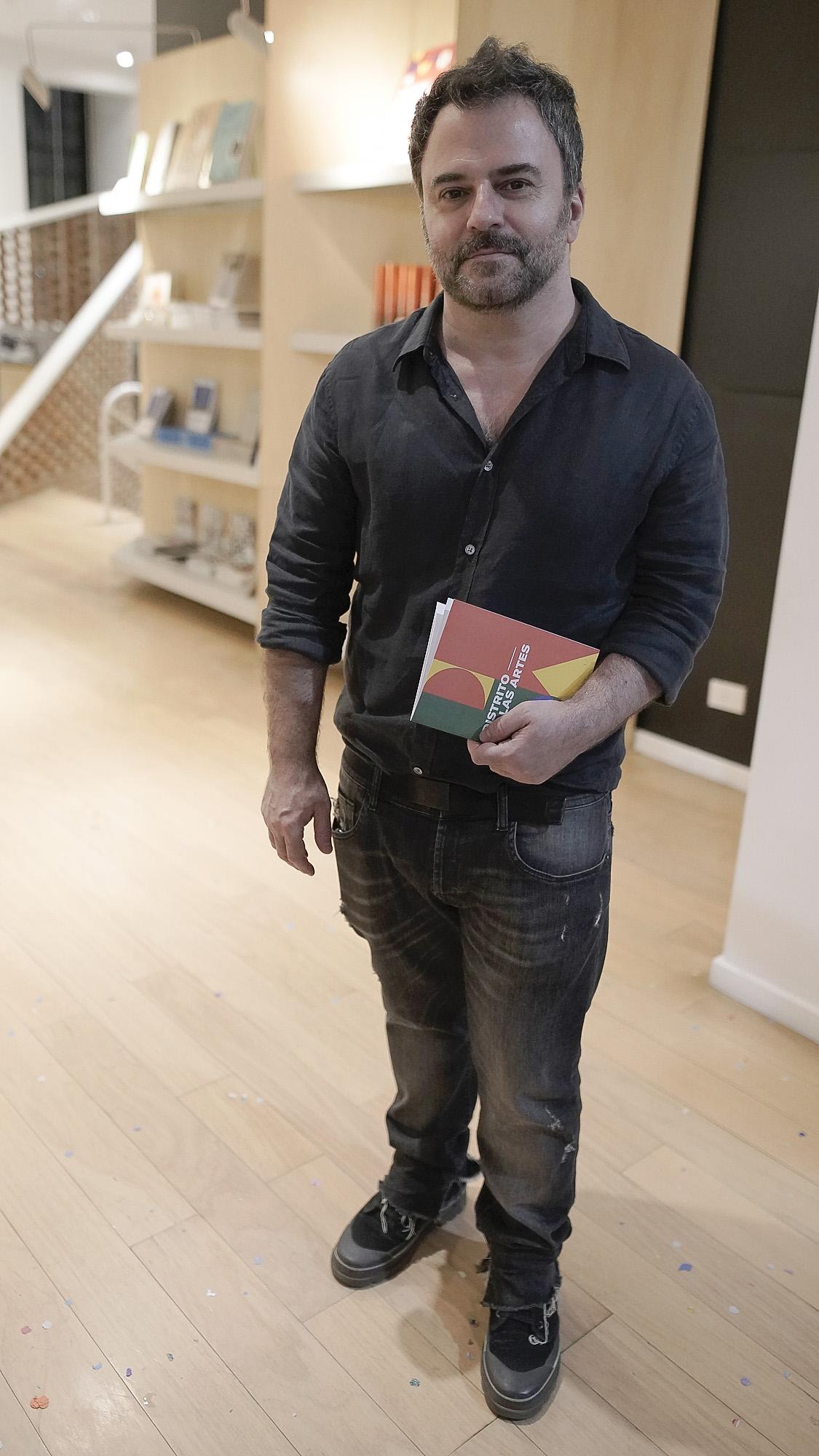Diego Radivoy, director general de Desarrollo Cultural y Creativo de la Ciudad