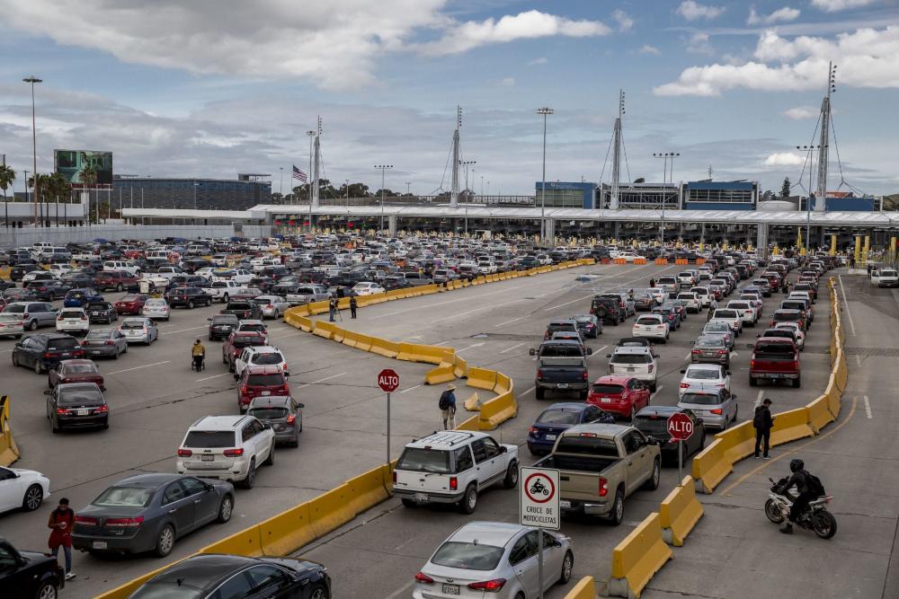 Frontera Tijuana (Foto: Cuartoscuro)