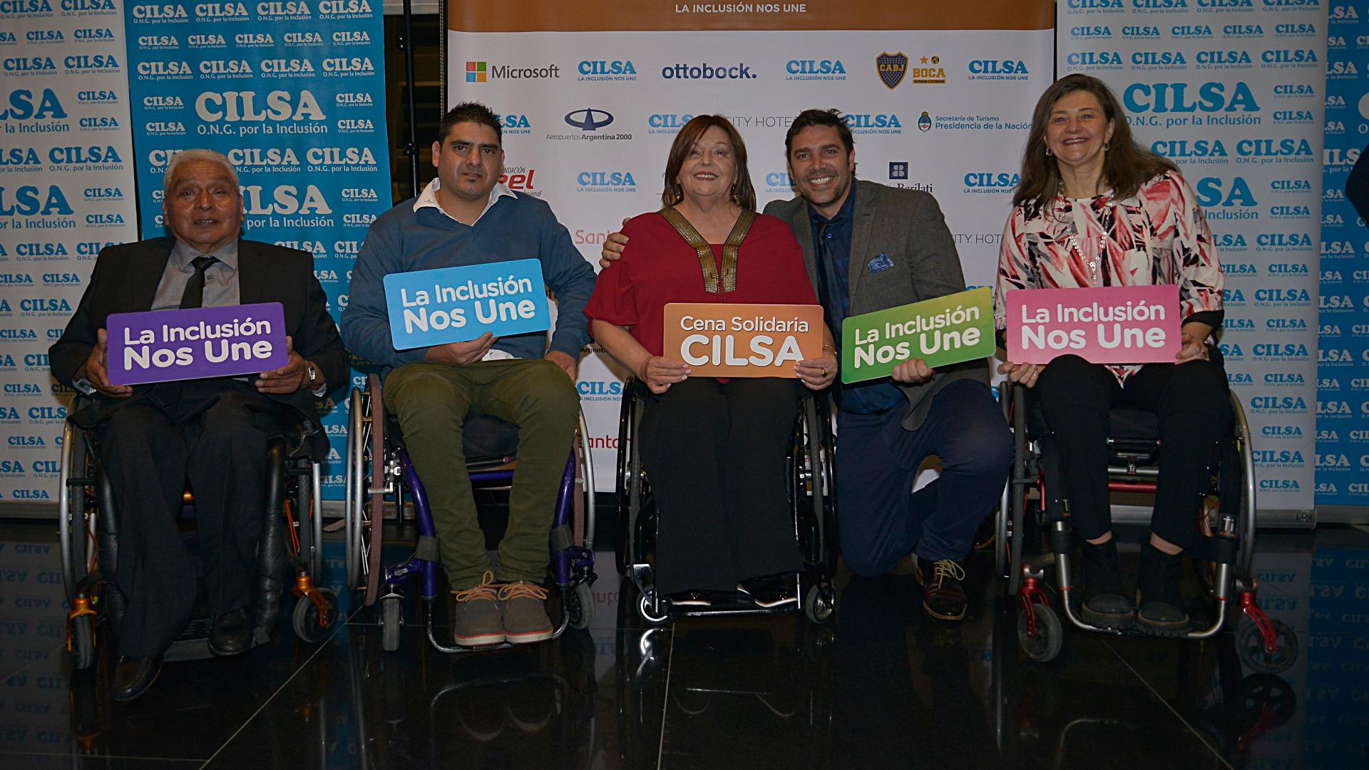 CILSA fue fundada el 14 de mayo de 1966, en la ciudad de Santa Fe. Su misión es promover la inclusión plena de personas con discapacidad y en situación de vulnerabilidad social. Muchos famosos, como Matías Alé, siempre se suman a sus campañas con el fin de colaborar
