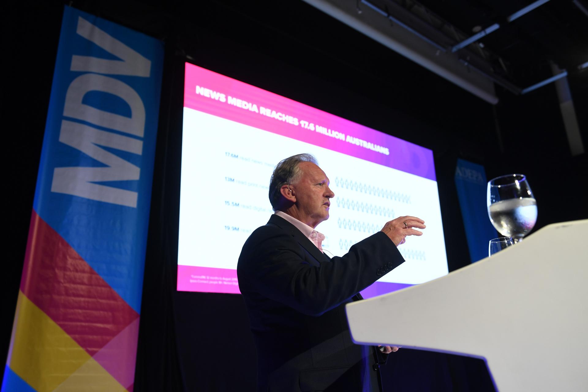 Peter Miller, CEO de NewsMediaWorks, Australia, habló sobre el vínculo de confianza que generan las marcas a través de las noticias