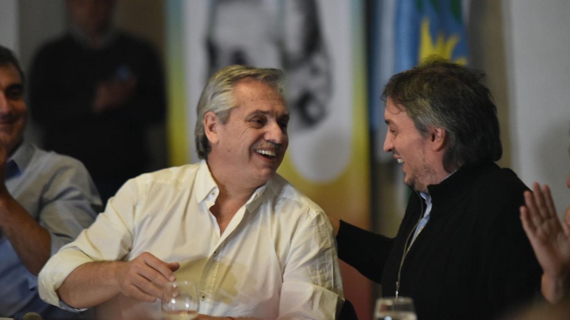 Alberto nunca perdió el vínculo con Máximo Kirchner, que fue clave para el retorno del hoy Presidente al mundo de Cristina.