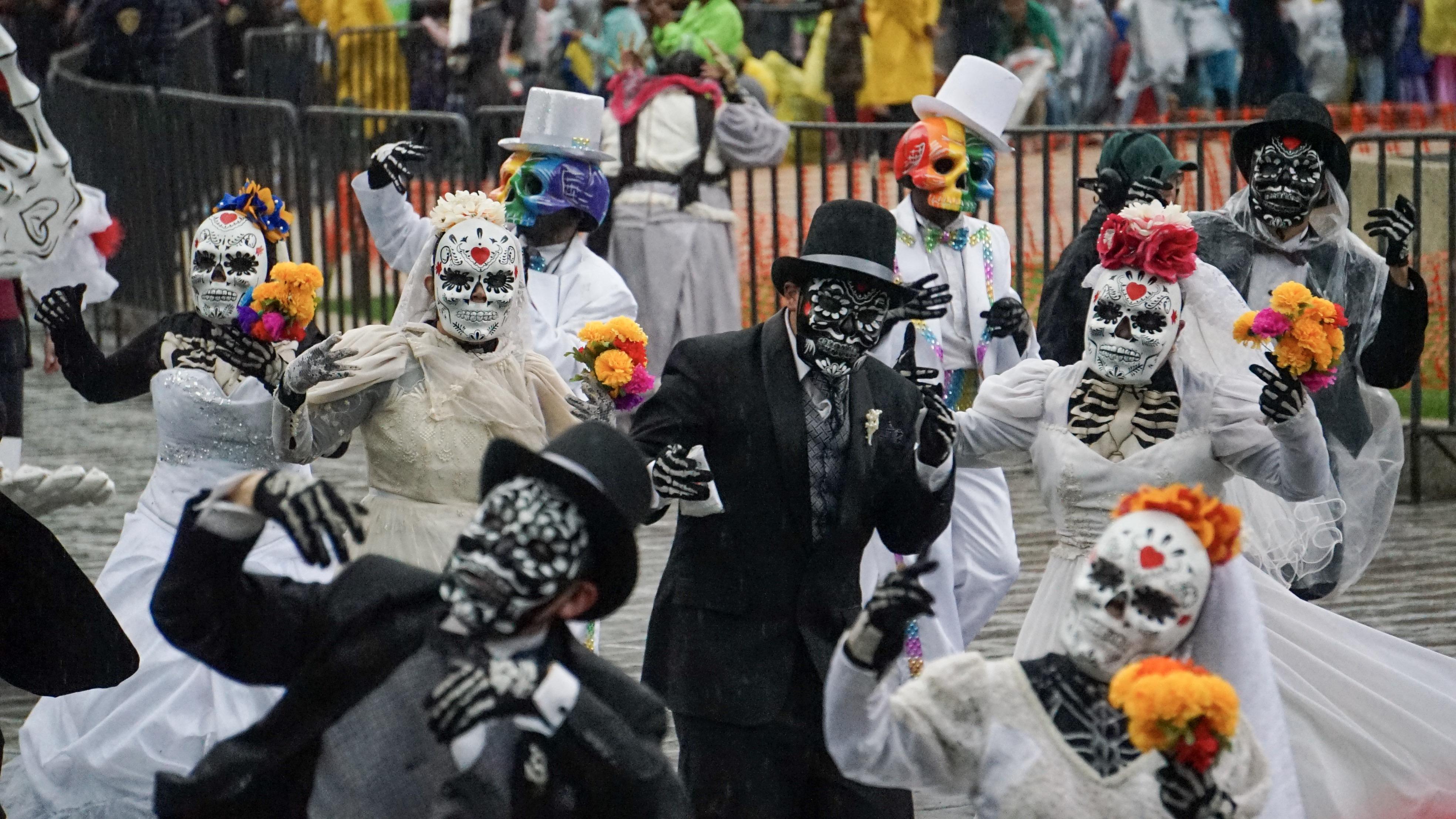 Este desfile se volvió ya una tradición de los capitalinos