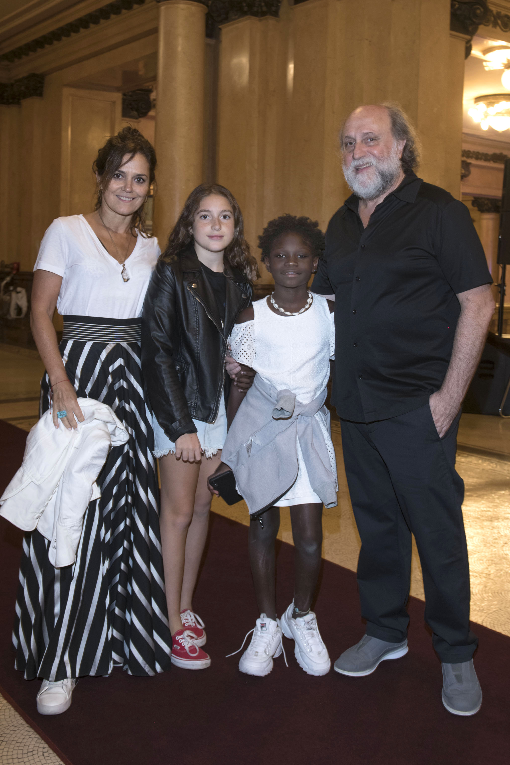 Andrea Pietra y Daniel Grinbank junto a su hija Stephanie
