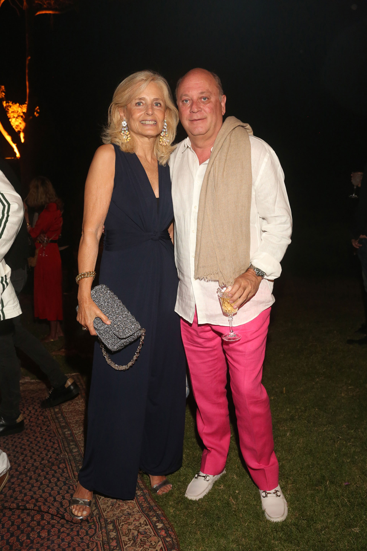 Cecilia Zuberbuhler y Martín Cabrales