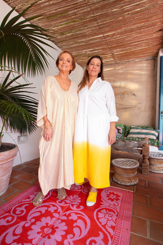 Roberta Freymann y Gabriela Herbstein