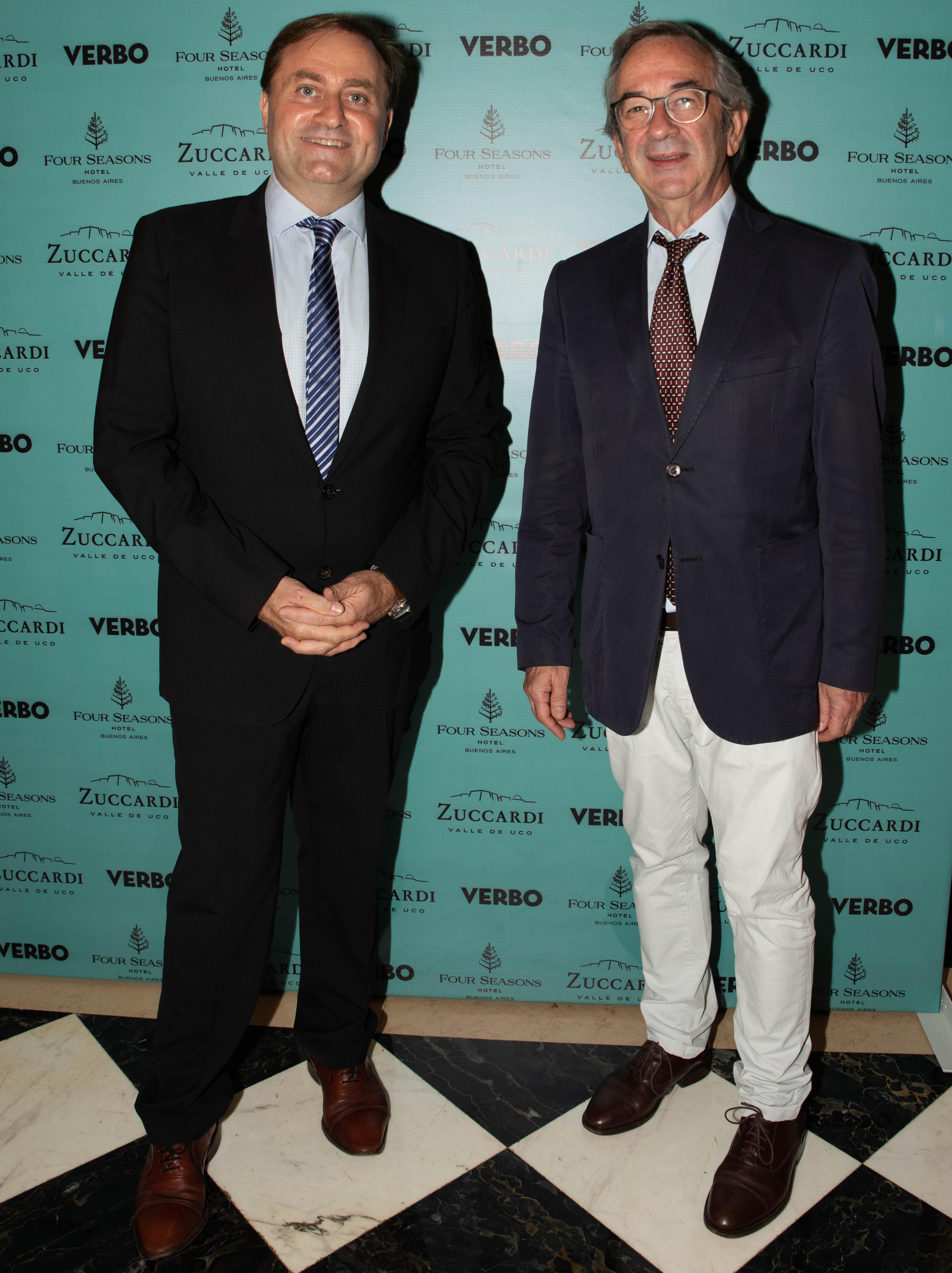 Néstor Sclauzero y Jorge Sigal