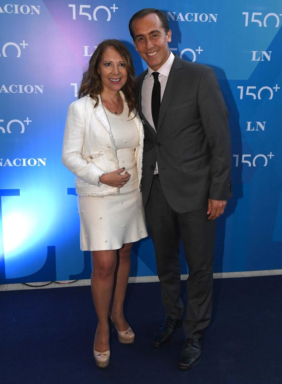 Los periodistas Laura Di Marco y Hugo Alconada Mon