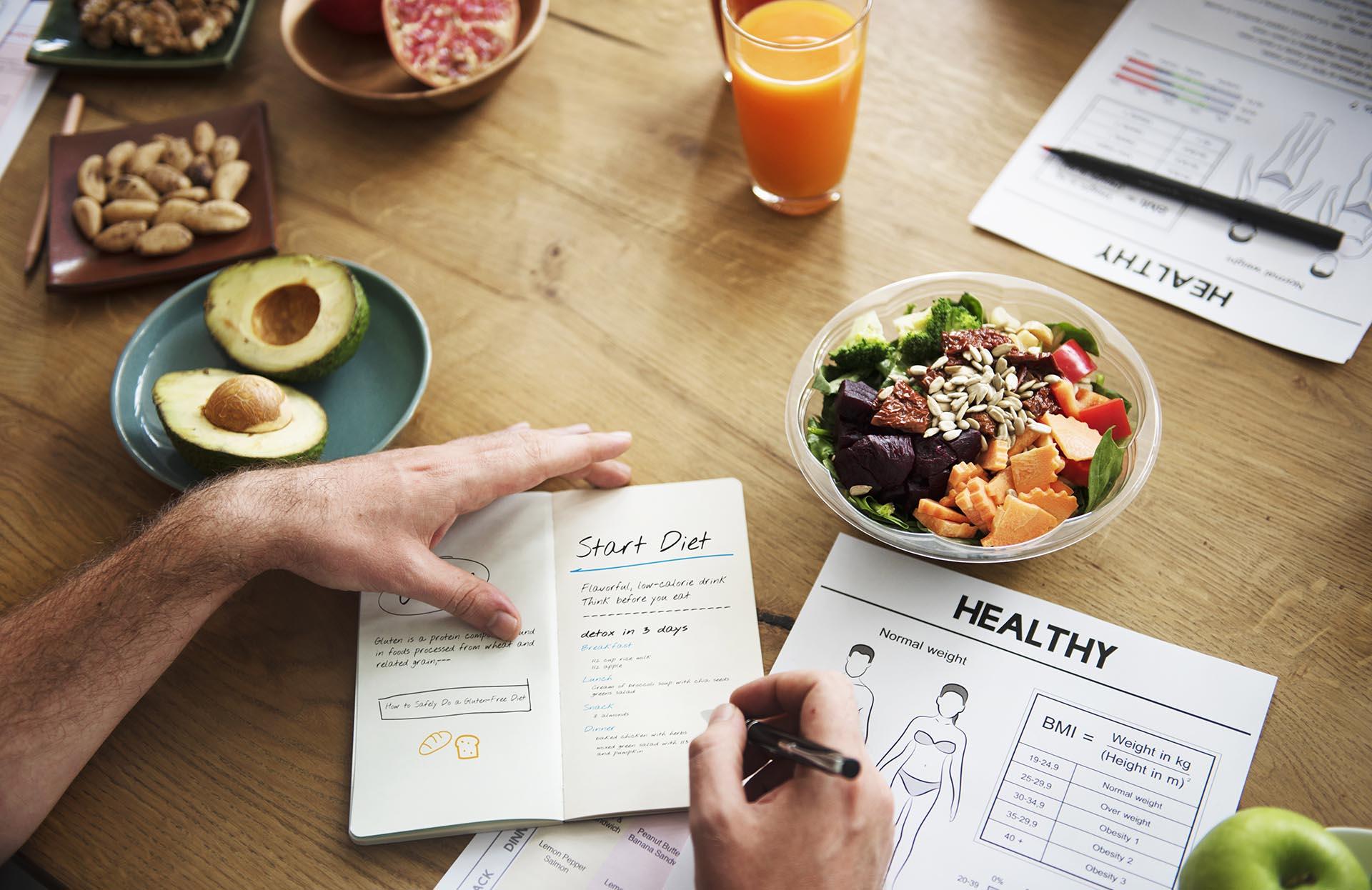 diferencia entre dieta variada y equilibradas