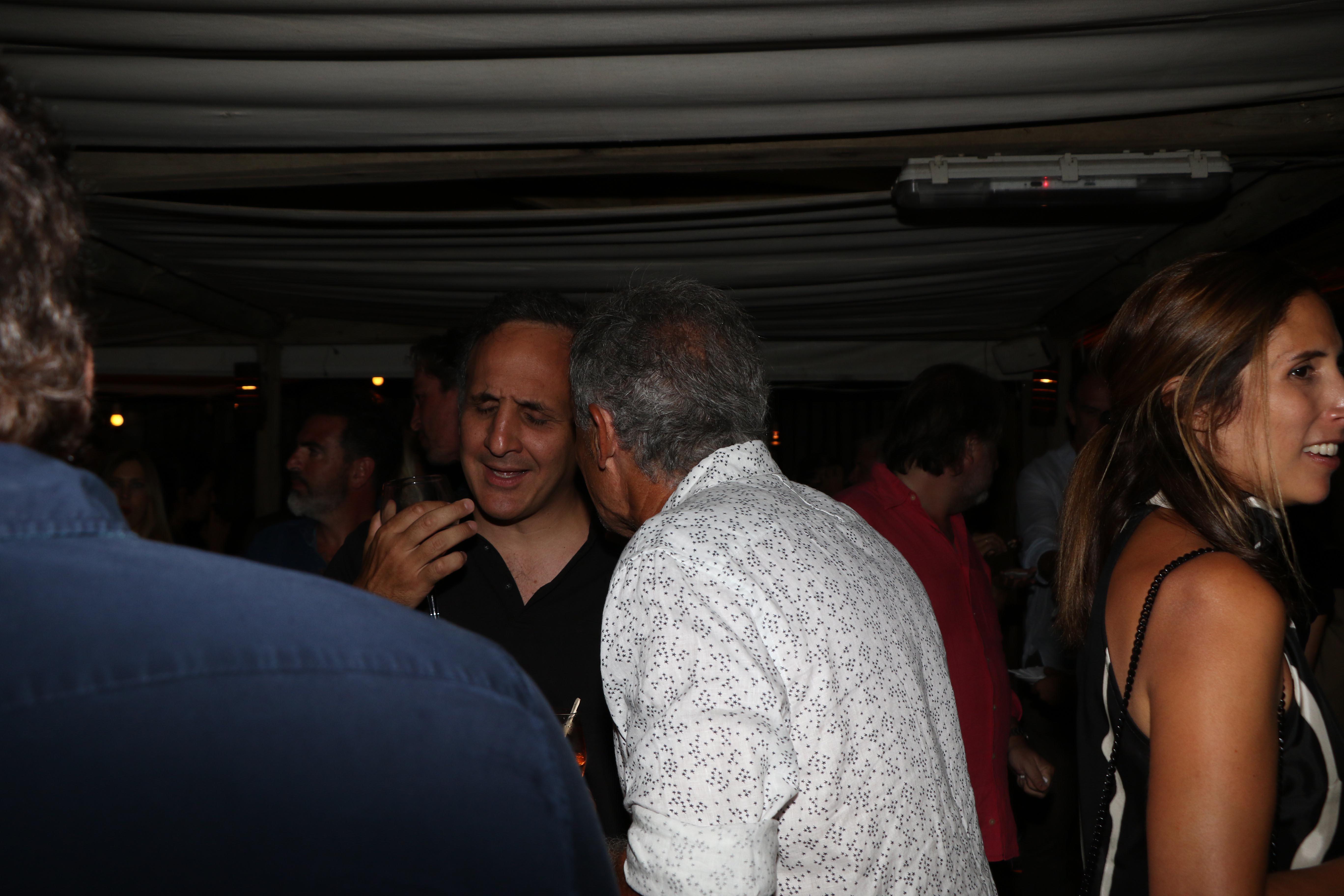 Marcos Bulgheroni y Francisco Cabrera