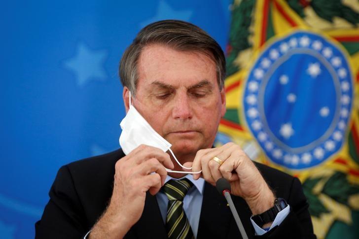"""Resultado de imagem para """"¡Antipatriota, infame!"""": El enojo de Jair Bolsonaro con una periodista por una pregunta sobre su gestión frente al coronavirus"""