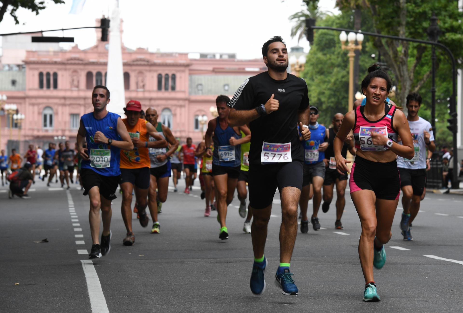 El desafío en el último día de 2019 comprendió 8 kilómetros de distancia (Maximiliano Luna)