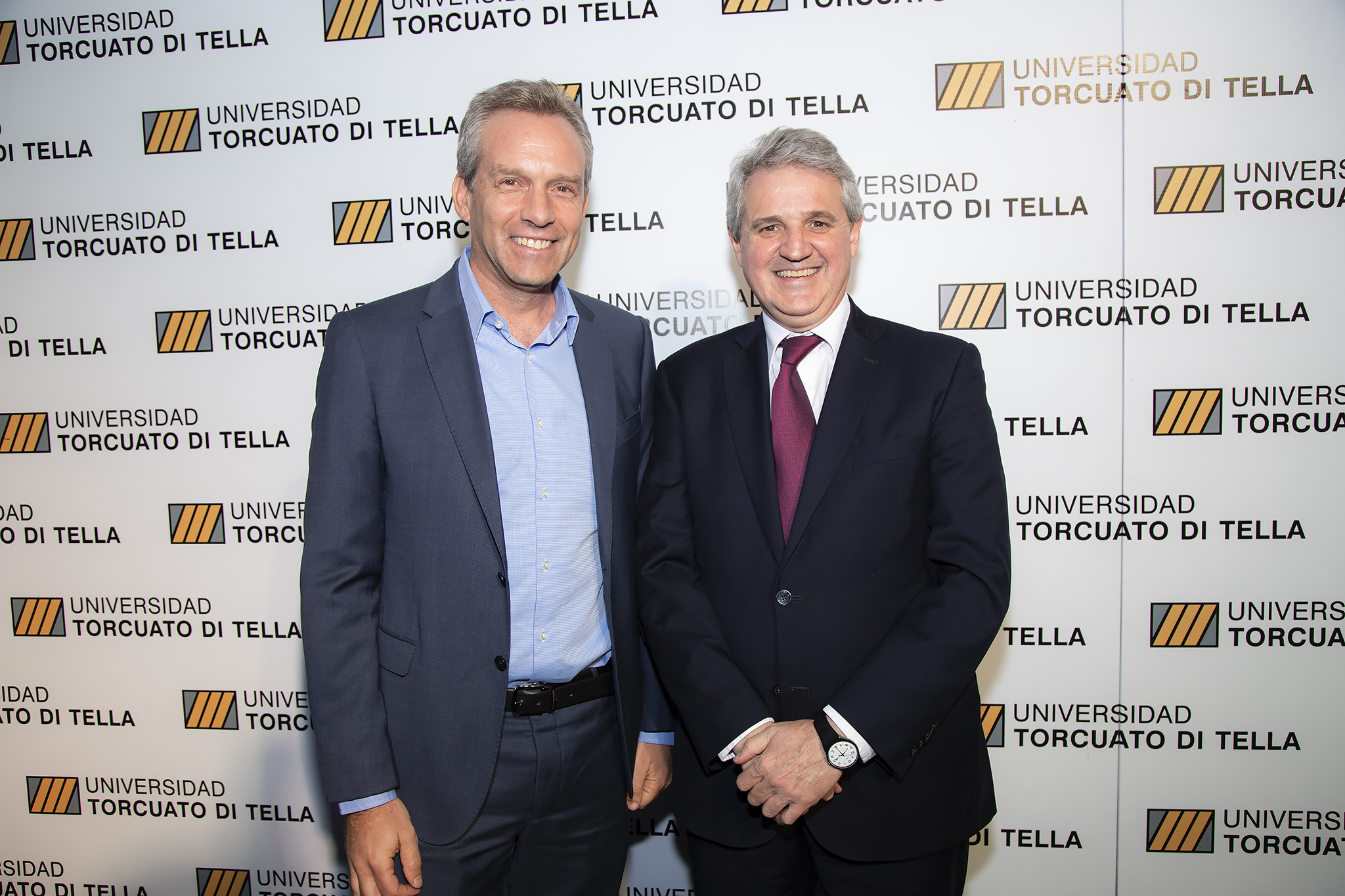 Pablo Wende y Juan José Cruces
