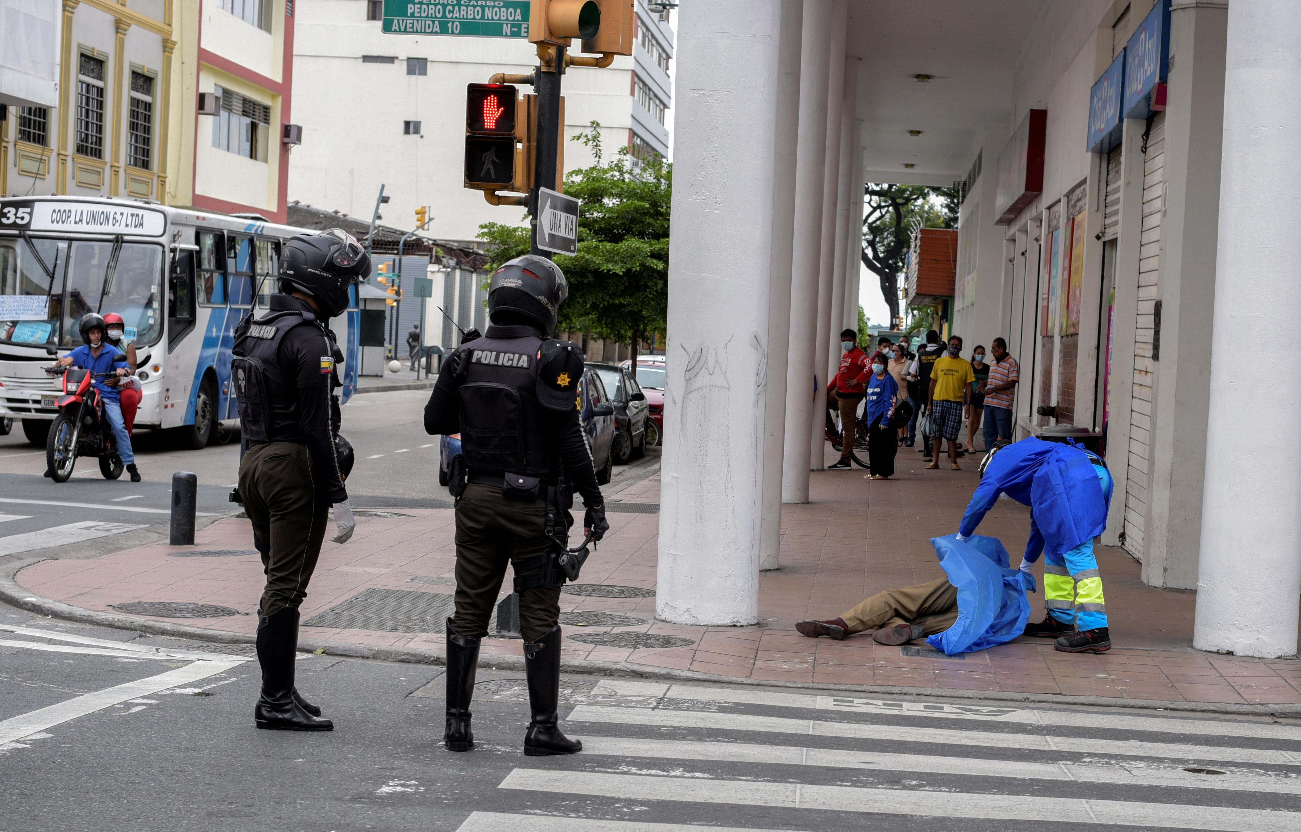 Aparecieron cuerpos de personas en Guayaquil, Ecuador (REUTERS)
