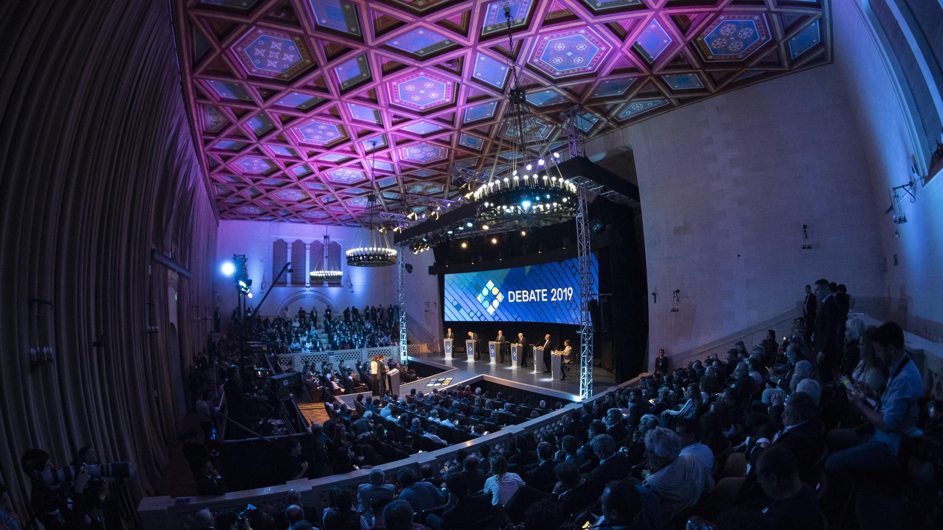 El debate se llevó a cabo en la Universidad Nacional del Litoral