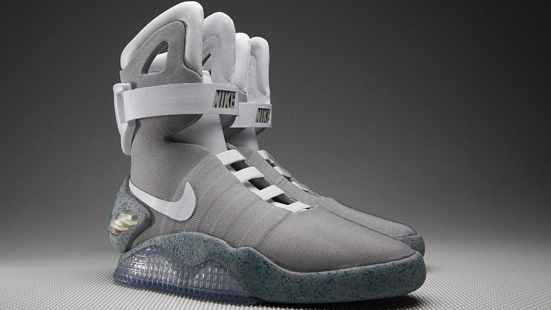 Mal uso tono ocio  Nike prepara las zapatillas futuristas de Marty McFly en Volver al Futuro -  Infobae
