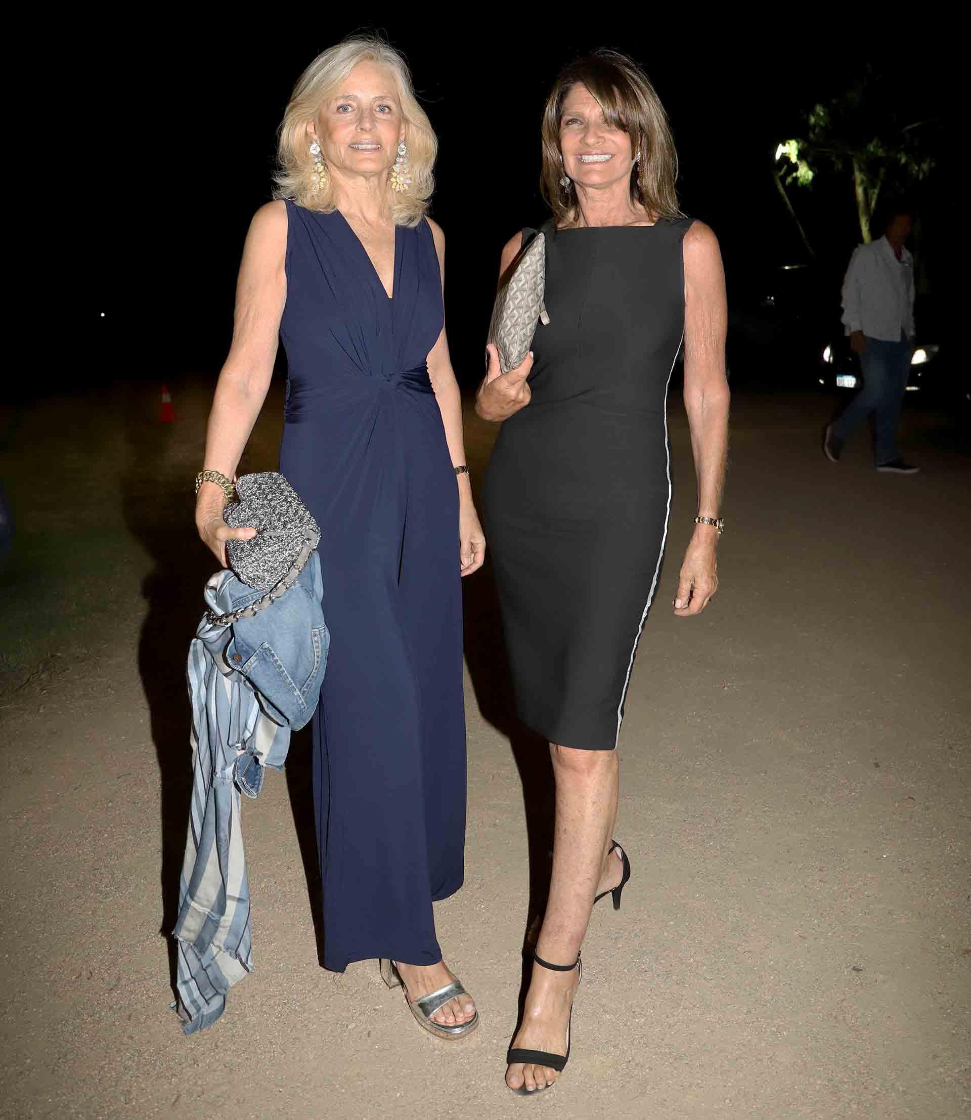 Cecilia Zuberbuhler y Teresa Calandra