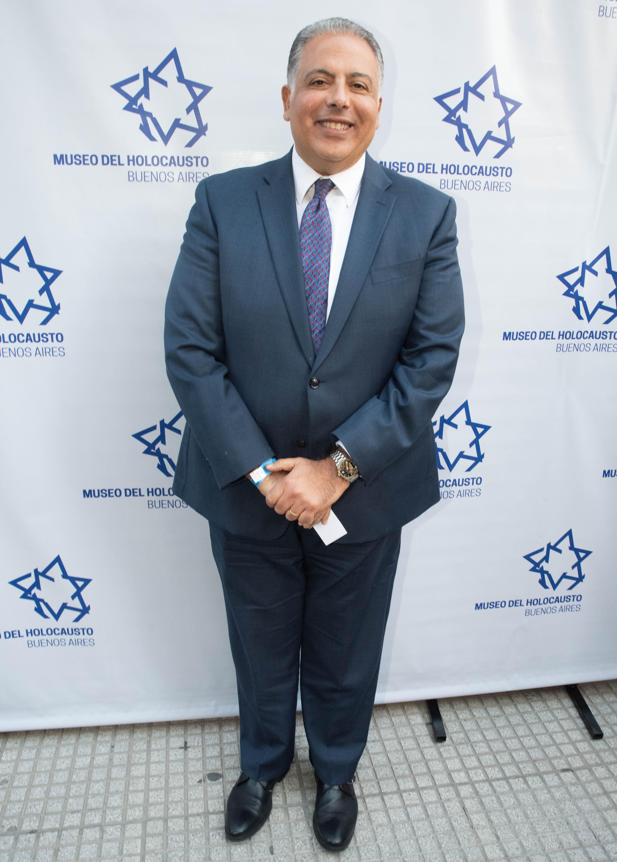El embajador de Egipto en Argentina, Amin Mourad Meleika