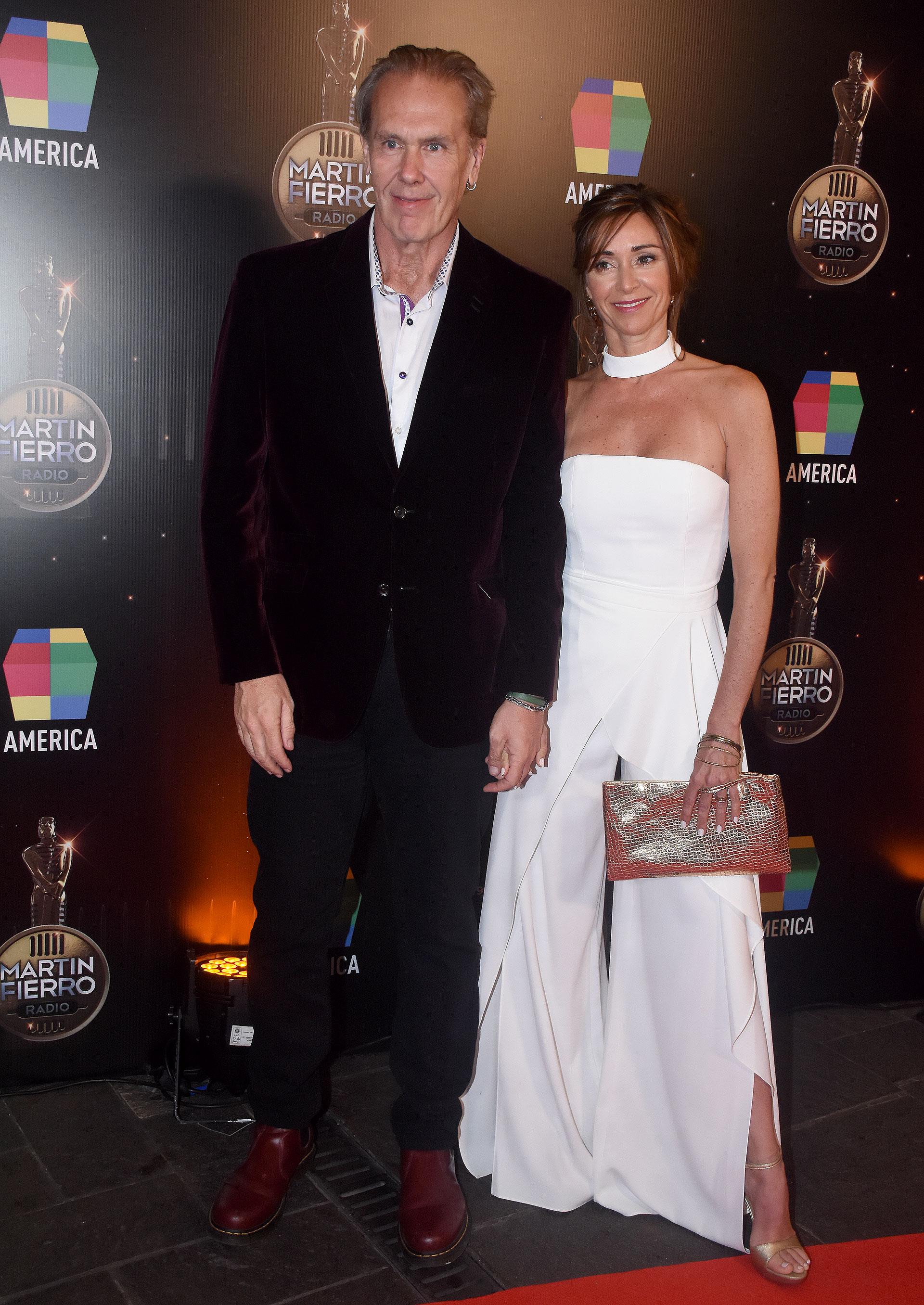 Gonzalo Bonadeo y su mujer, Carmela Carey