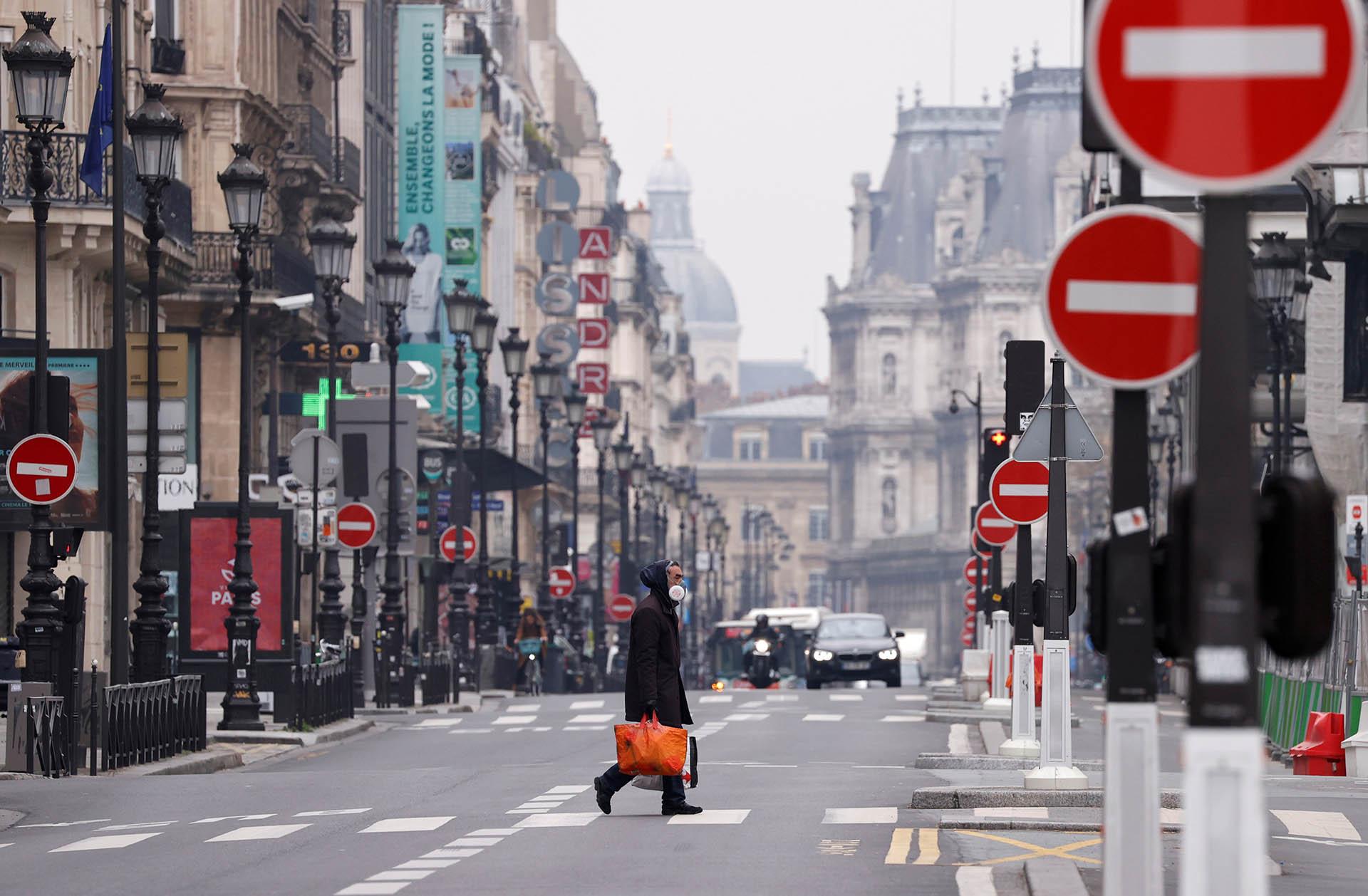 Rue de Rivoli, Paris, Francia