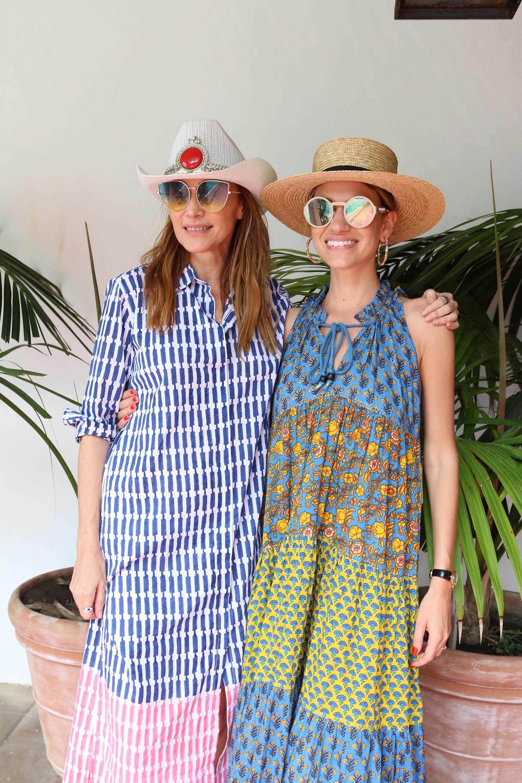 Verónica Lozano y Angie Landaburu